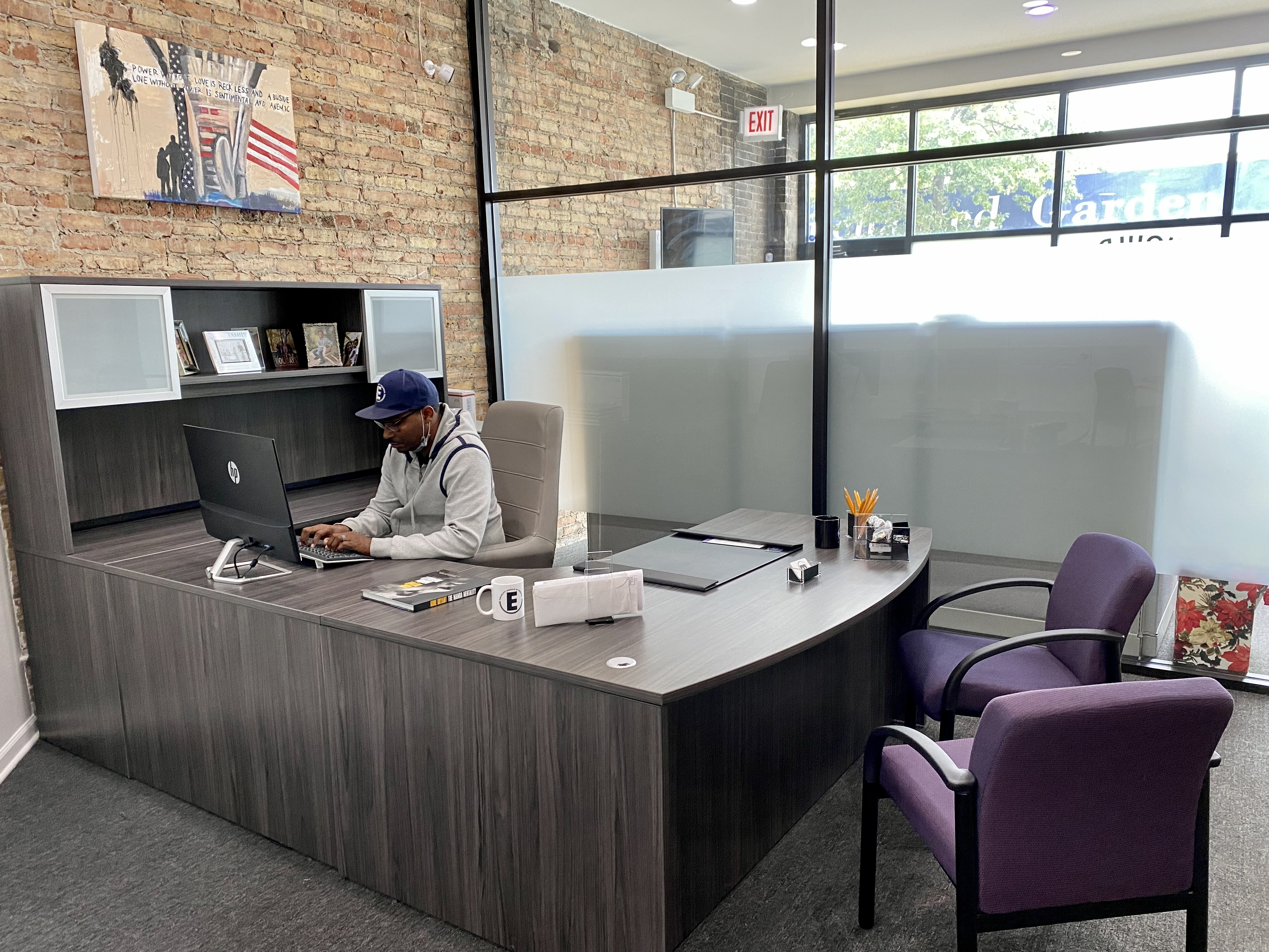 Romel Murphy's nonprofit Equality Should Be Normal is one of 11 centers receiving internet access and laptops through the South Side Connectivity Collaborative.