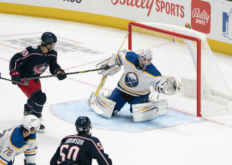 NHL: SEP 28 Preseason - Sabres at Blue Jackets