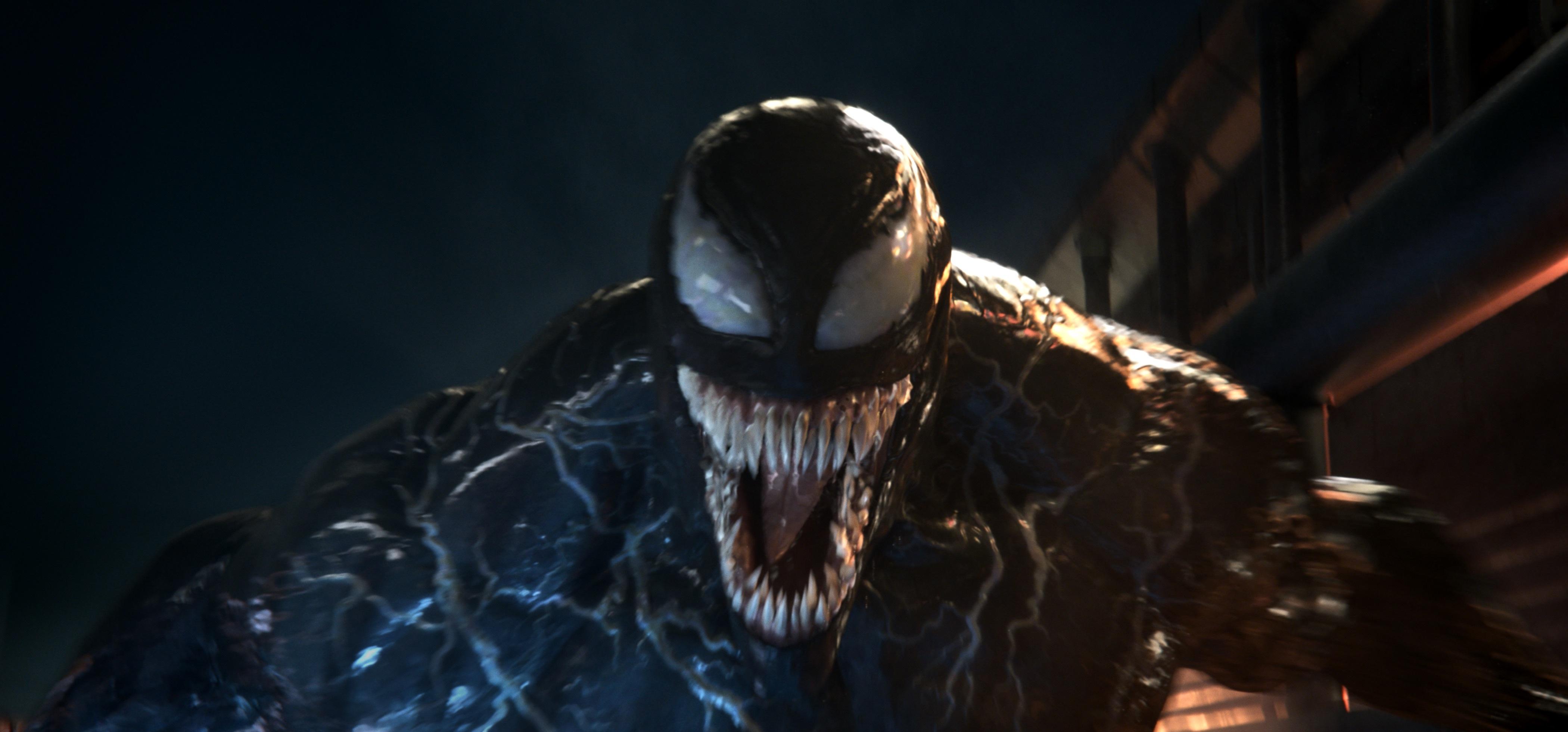"""Venom"" tells the story of Eddie Brock becoming the villain Venom."