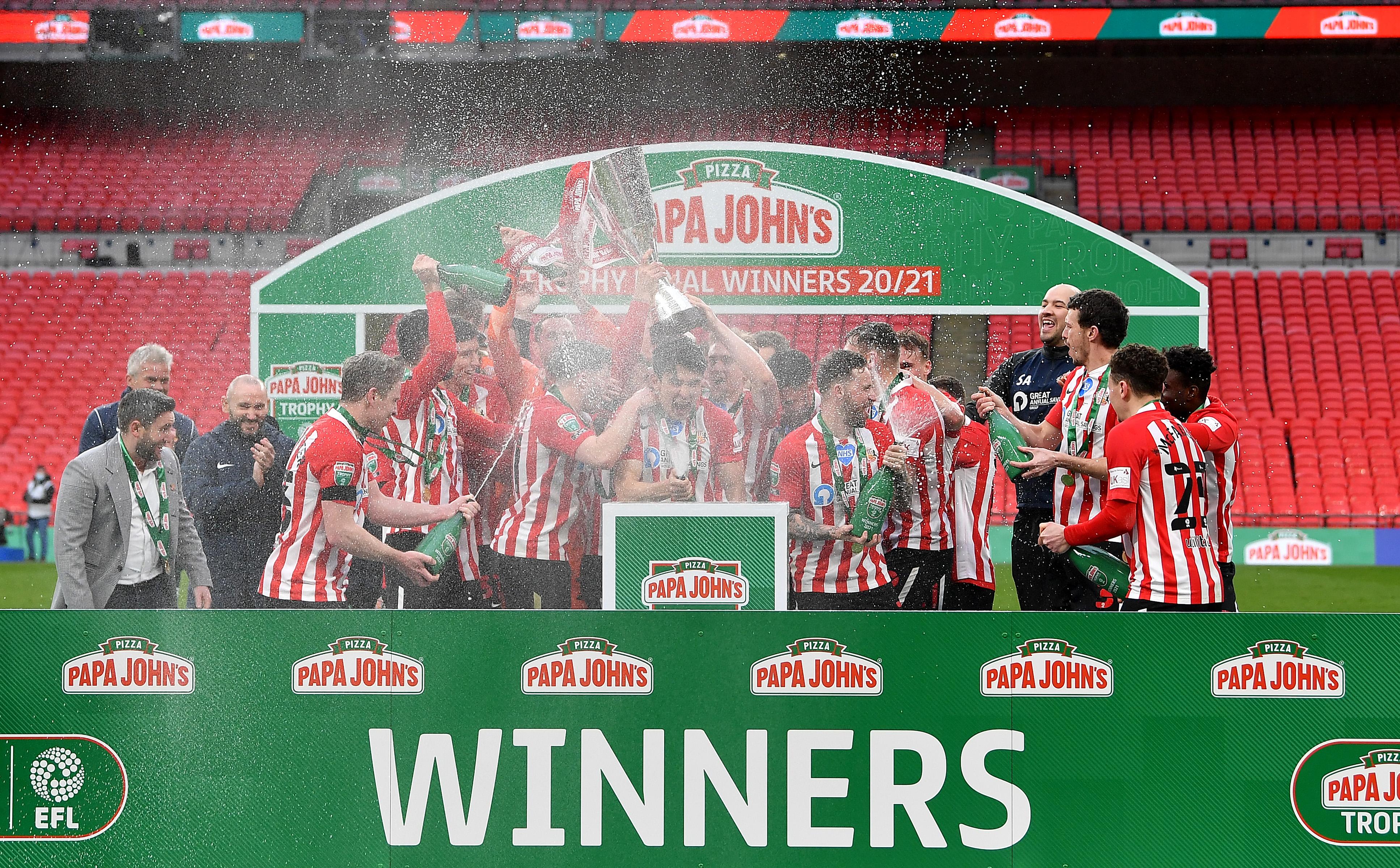 Sunderland v Tranmere Rovers - Papa John's Trophy Final