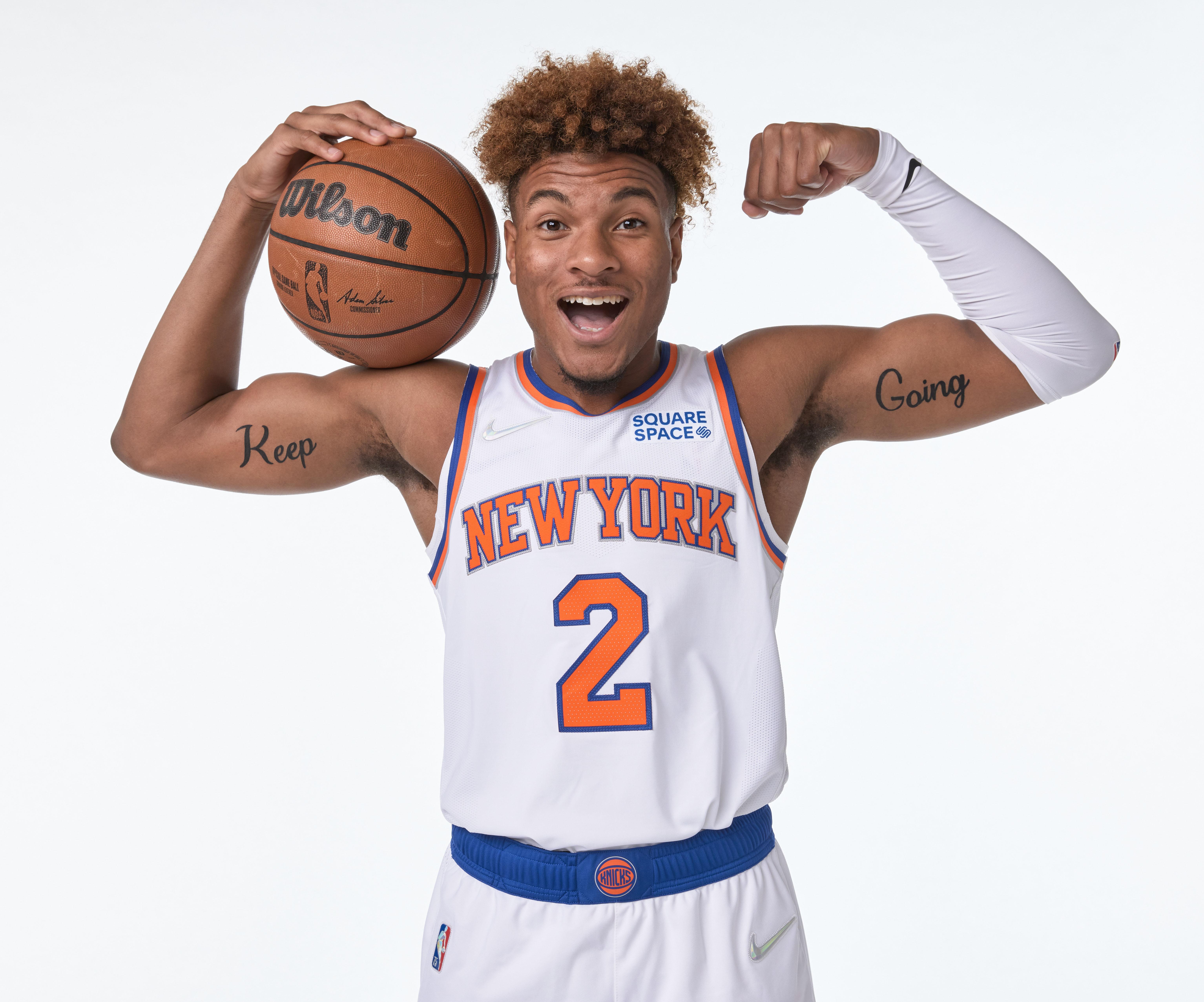 2021-22 New York Knicks Media Day