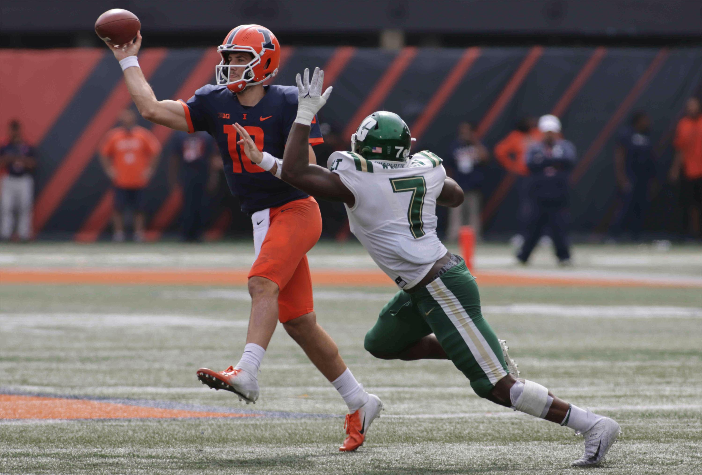 NCAA Football: Charlotte at Illinois