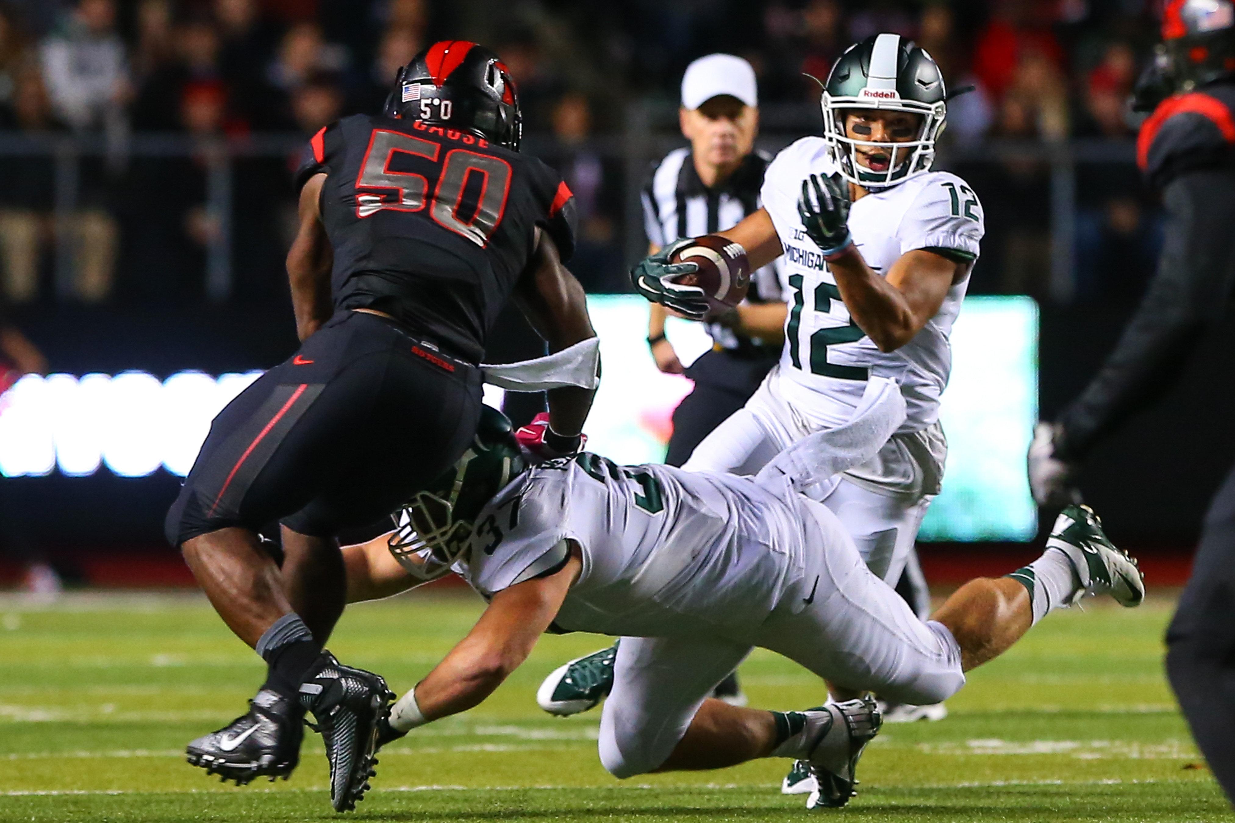 NCAA FOOTBALL: OCT 10 Michigan State at Rutgers