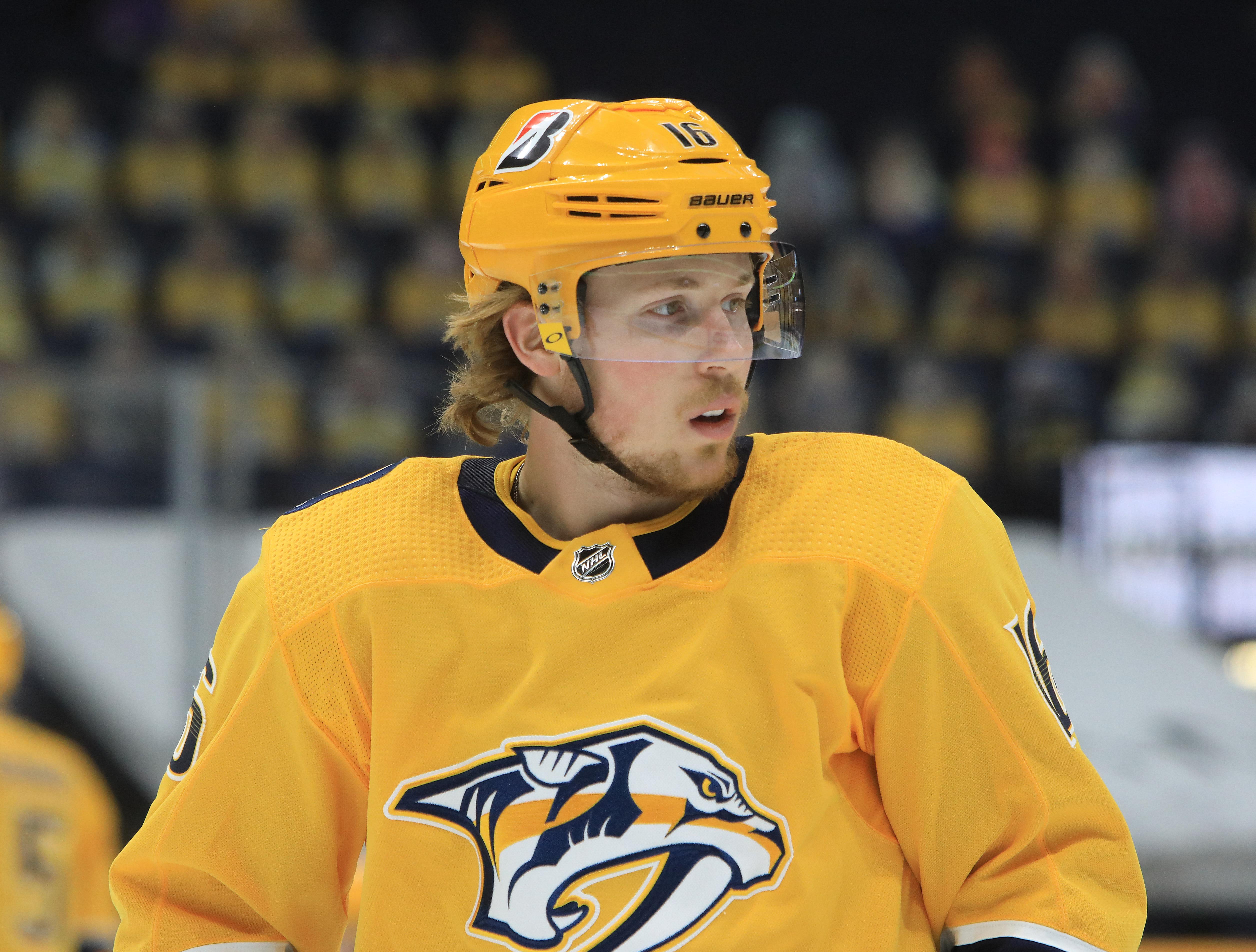 NHL: APR 13 Lightning at Predators