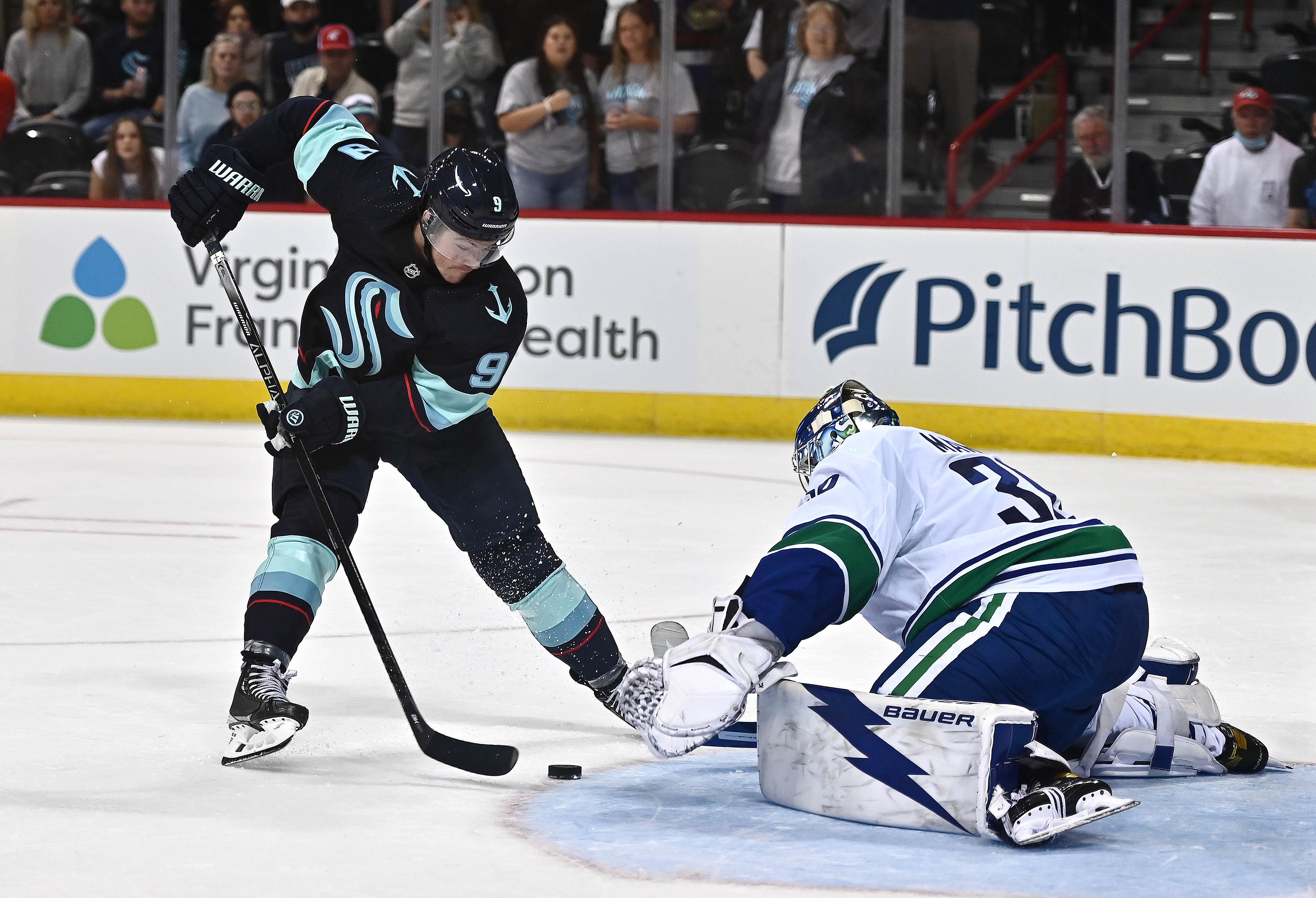 NHL: Preseason-Vancouver Canucks at Seattle Kraken