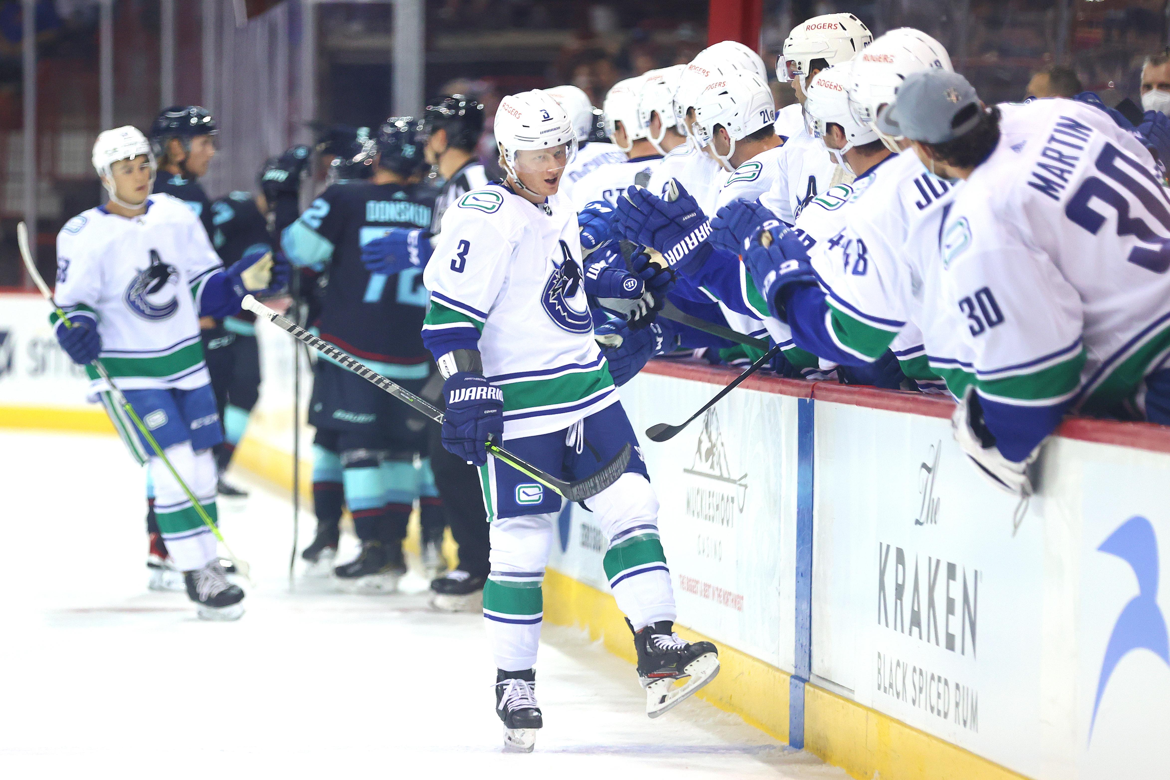 Vancouver Canucks v Seattle Kraken