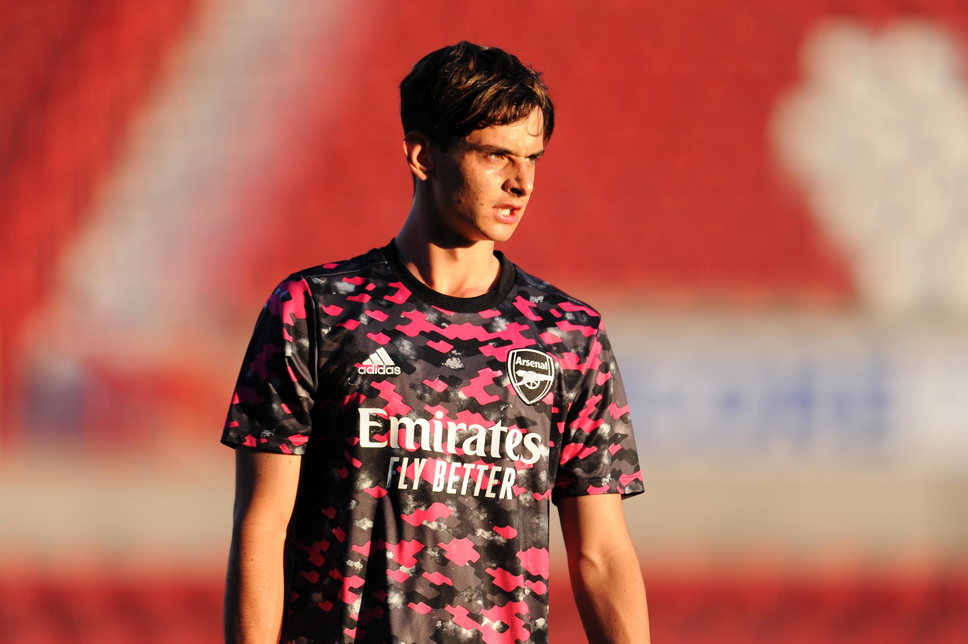 Swindon Town v Arsenal U21 - Papa John's Trophy EFL Trophy