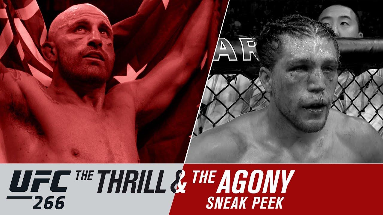 UFC 266: Volkanovski vs. Ortega Thrill and Agony MMA news video