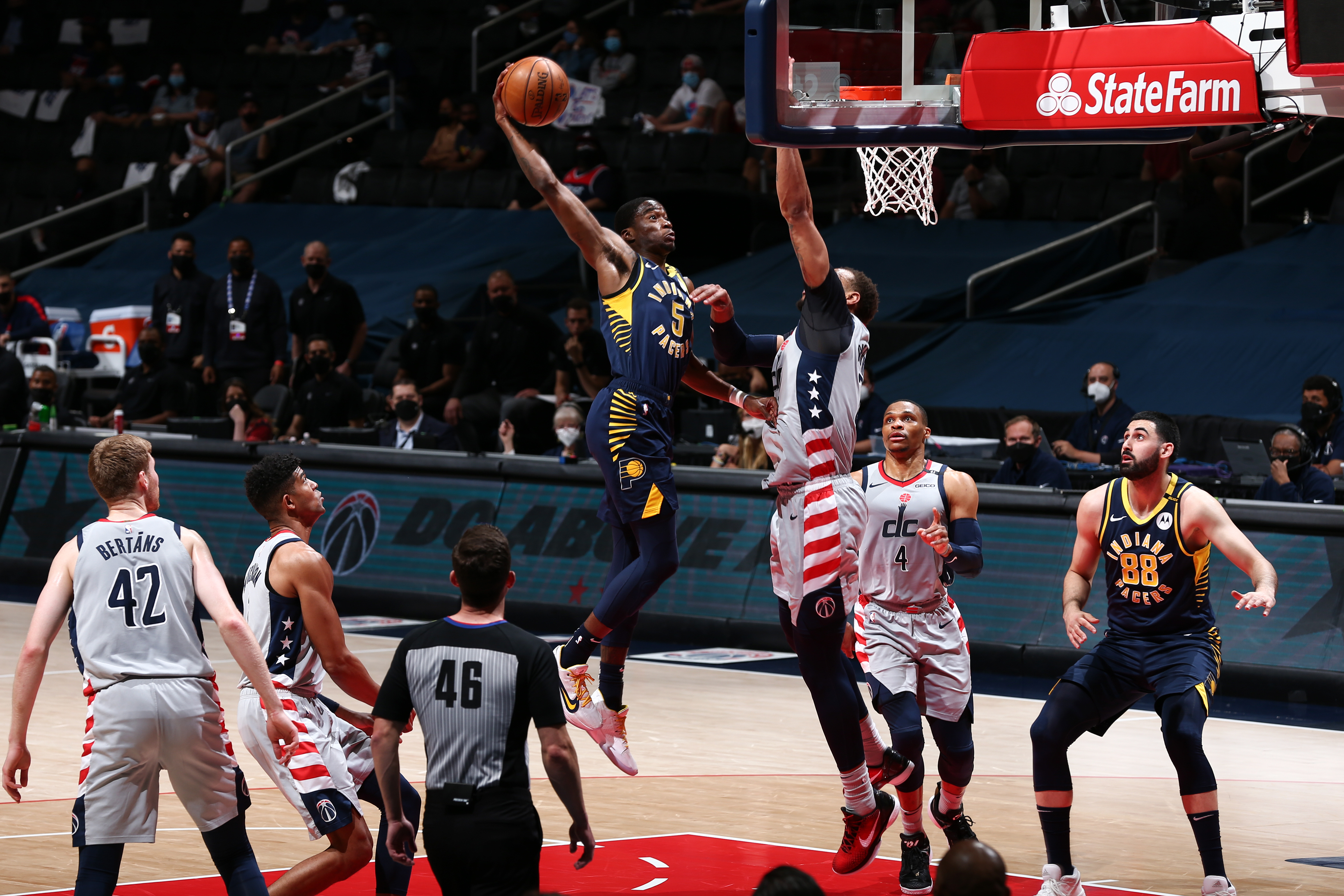 2021 Play-In Tournament - Indiana Pacers v Washington Wizards