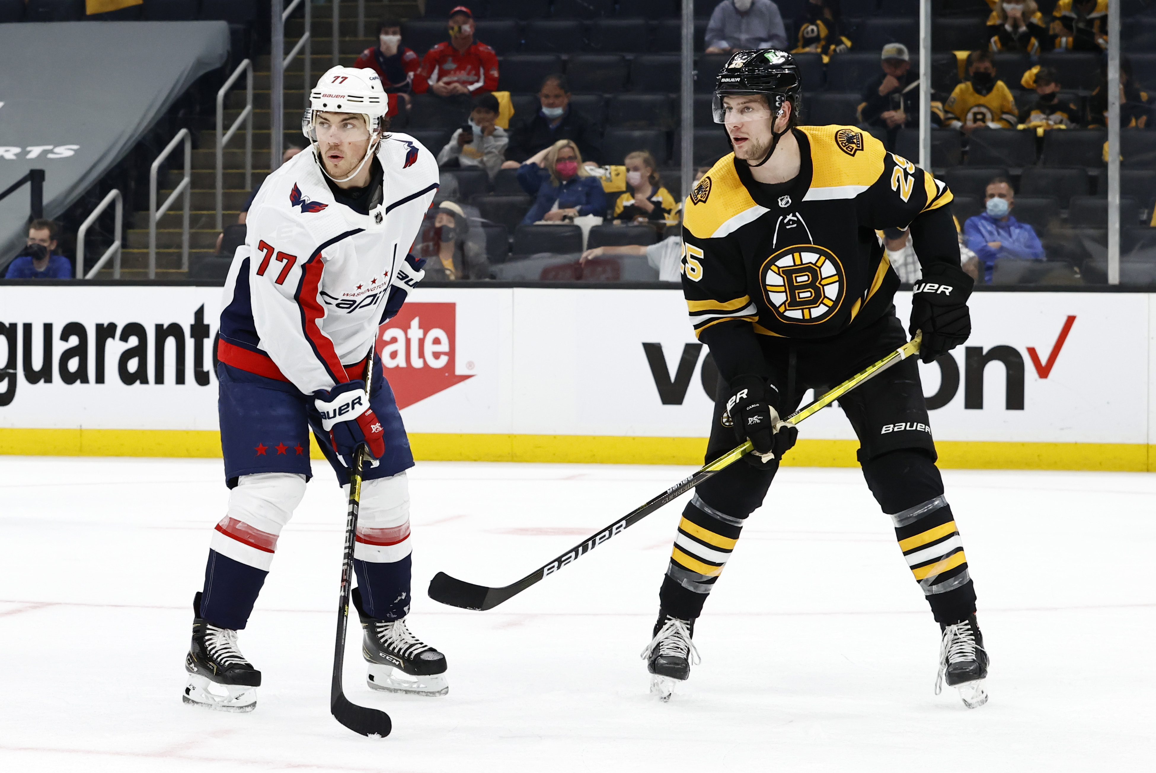 NHL: MAY 21 Stanley Cup Playoffs First Round - Capitals at Bruins
