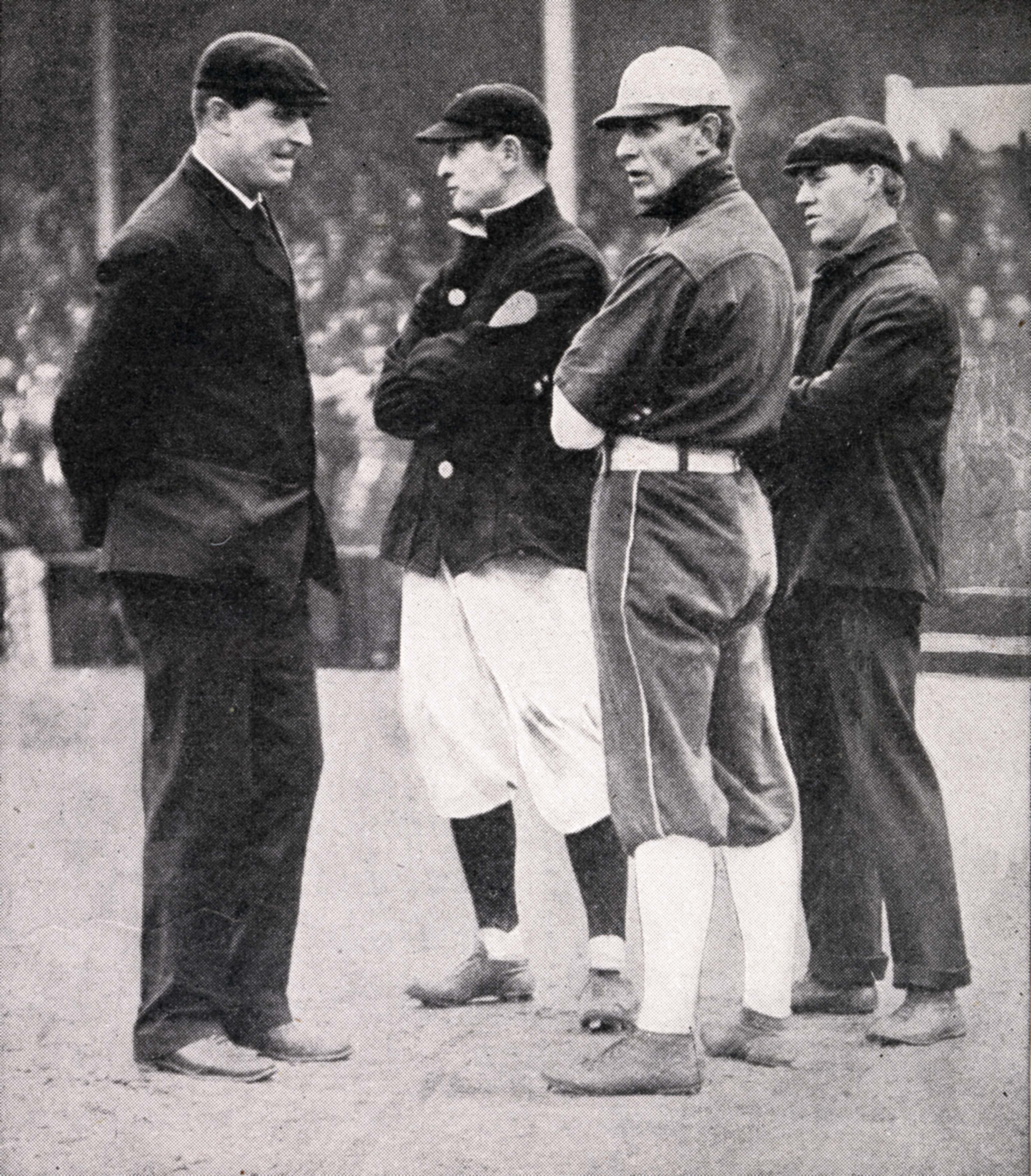 Managers Meet Umpires