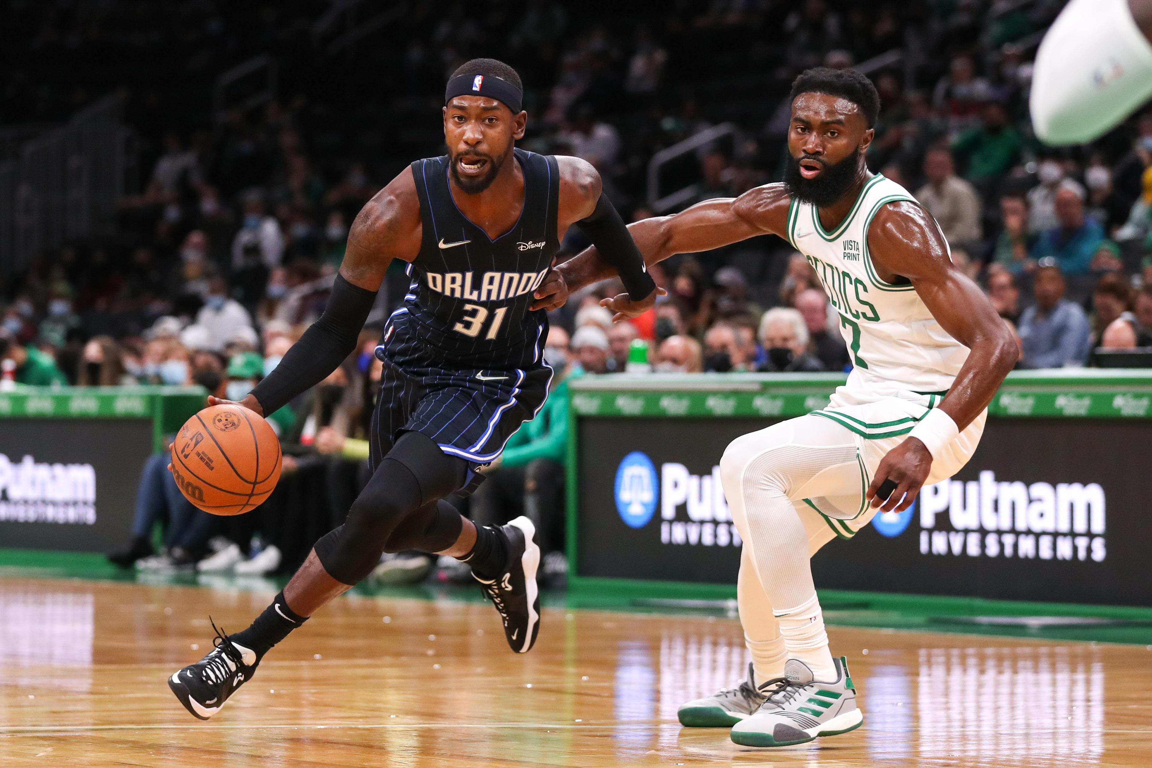 NBA: Preseason-Orlando Magic at Boston Celtics