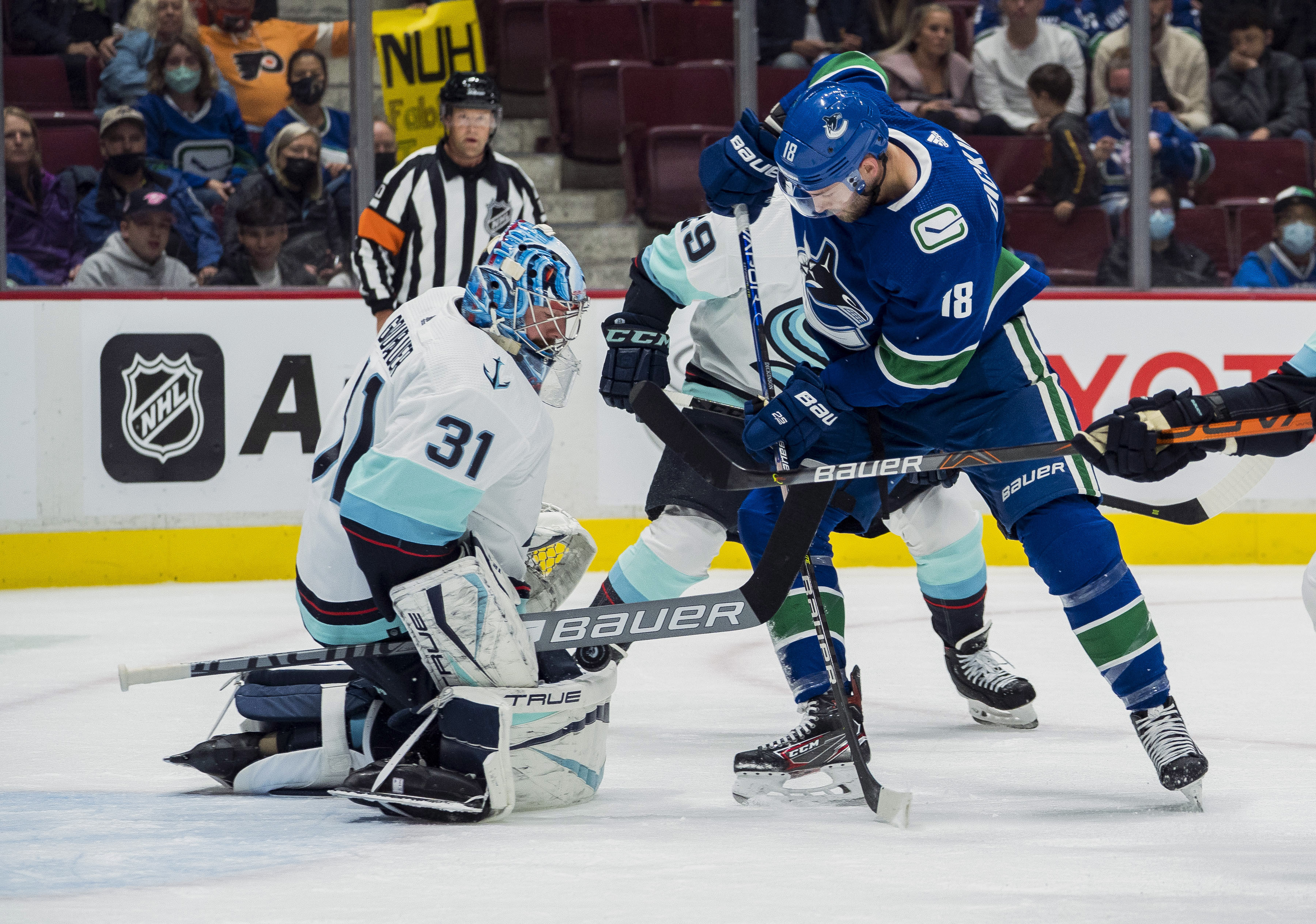 NHL: Preseason-Seattle Kraken at Vancouver Canucks