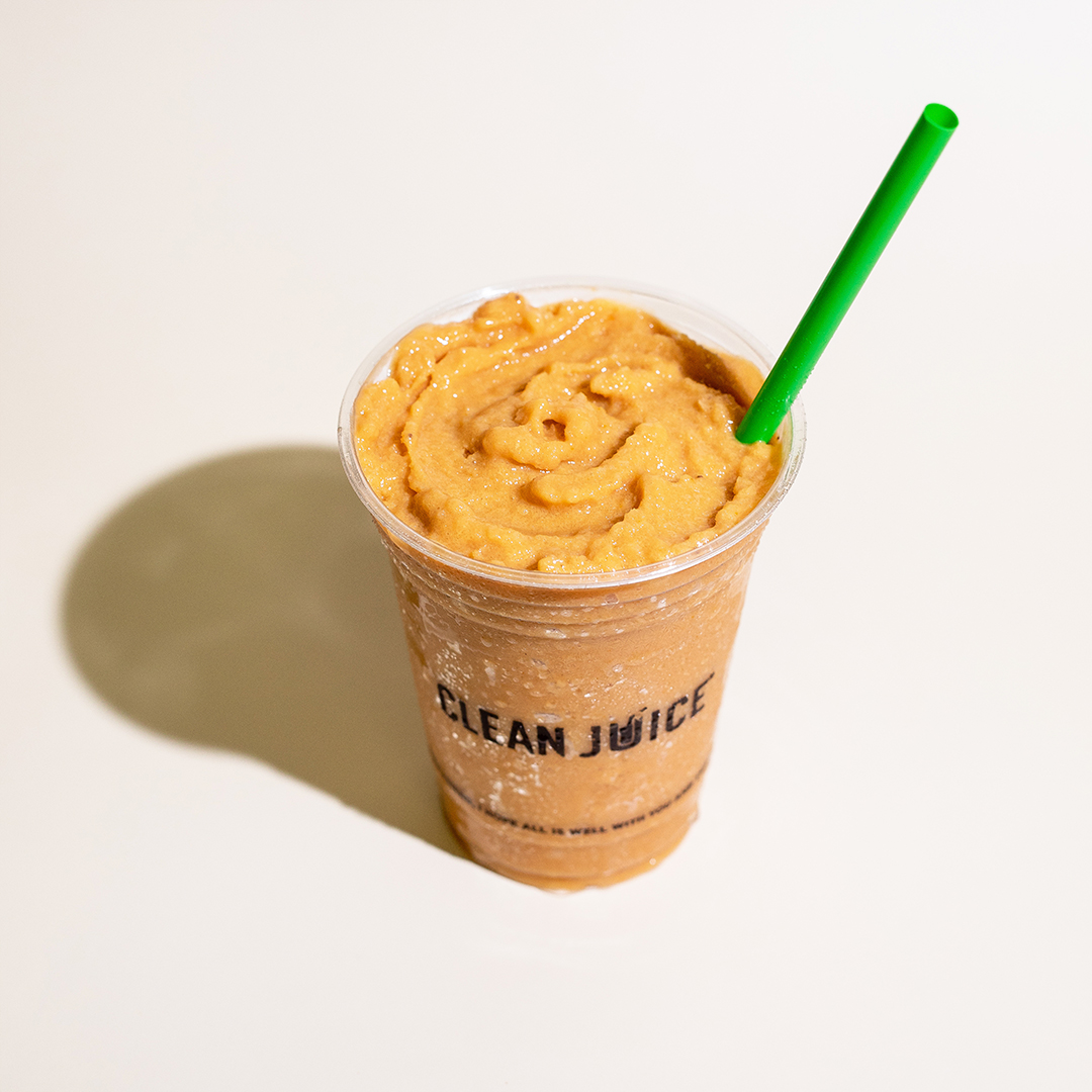 """A photo of """"The Pumpkin One"""" drink"""