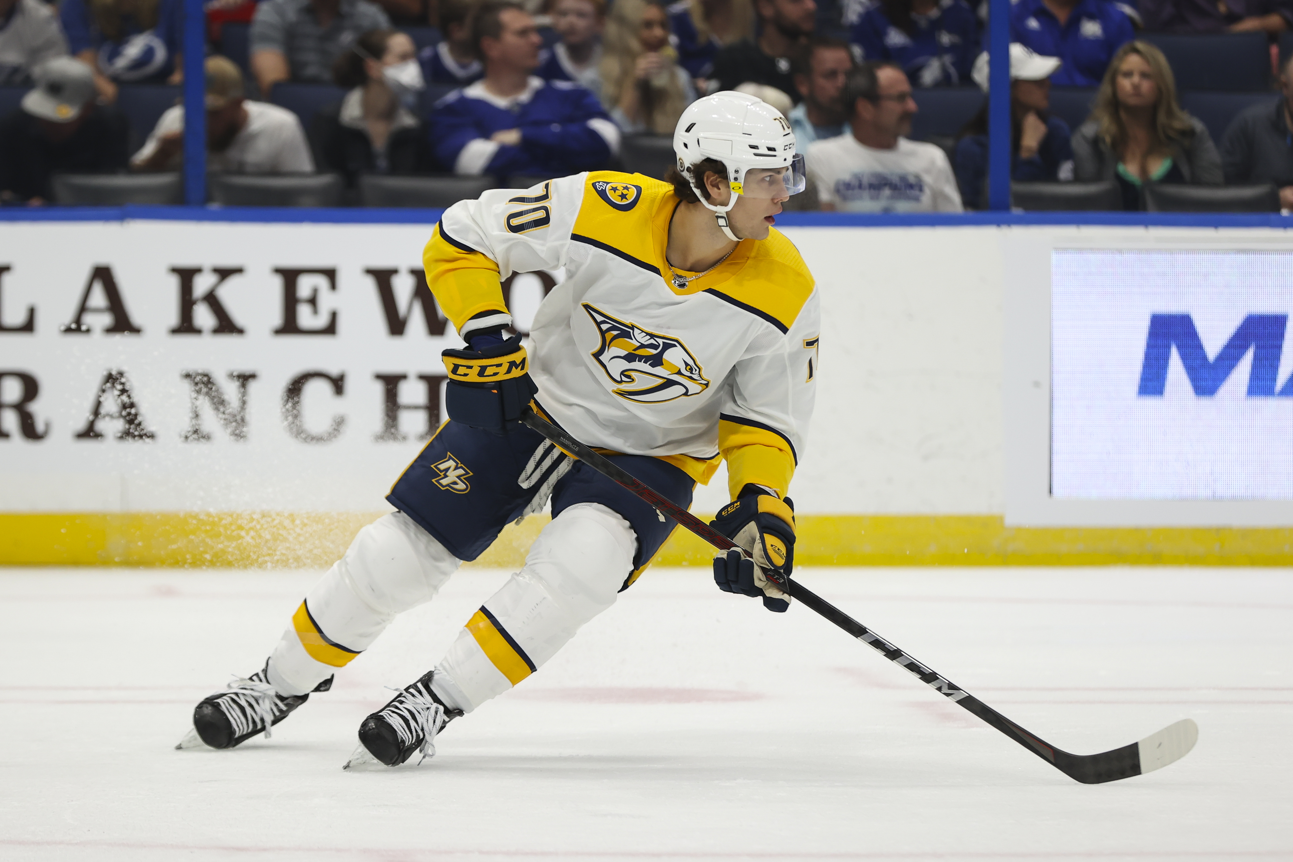 NHL: SEP 30 Preseason - Predators at Lightning