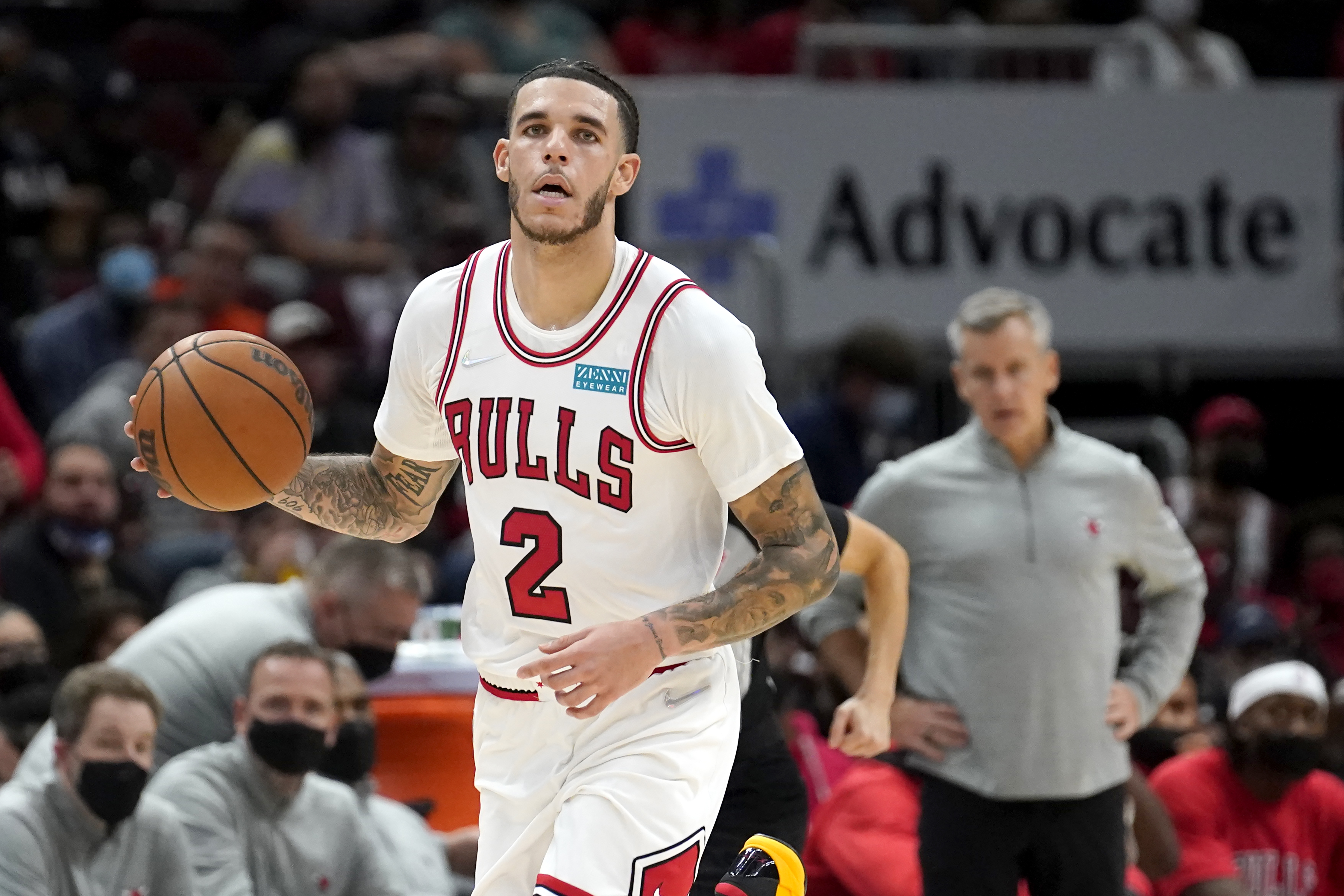 """""""I just know that we have a lot of talent,"""" the Bulls' Lonzo Ball said. """"There's only one basketball out there and we understand that and it's all about getting the best shot."""""""