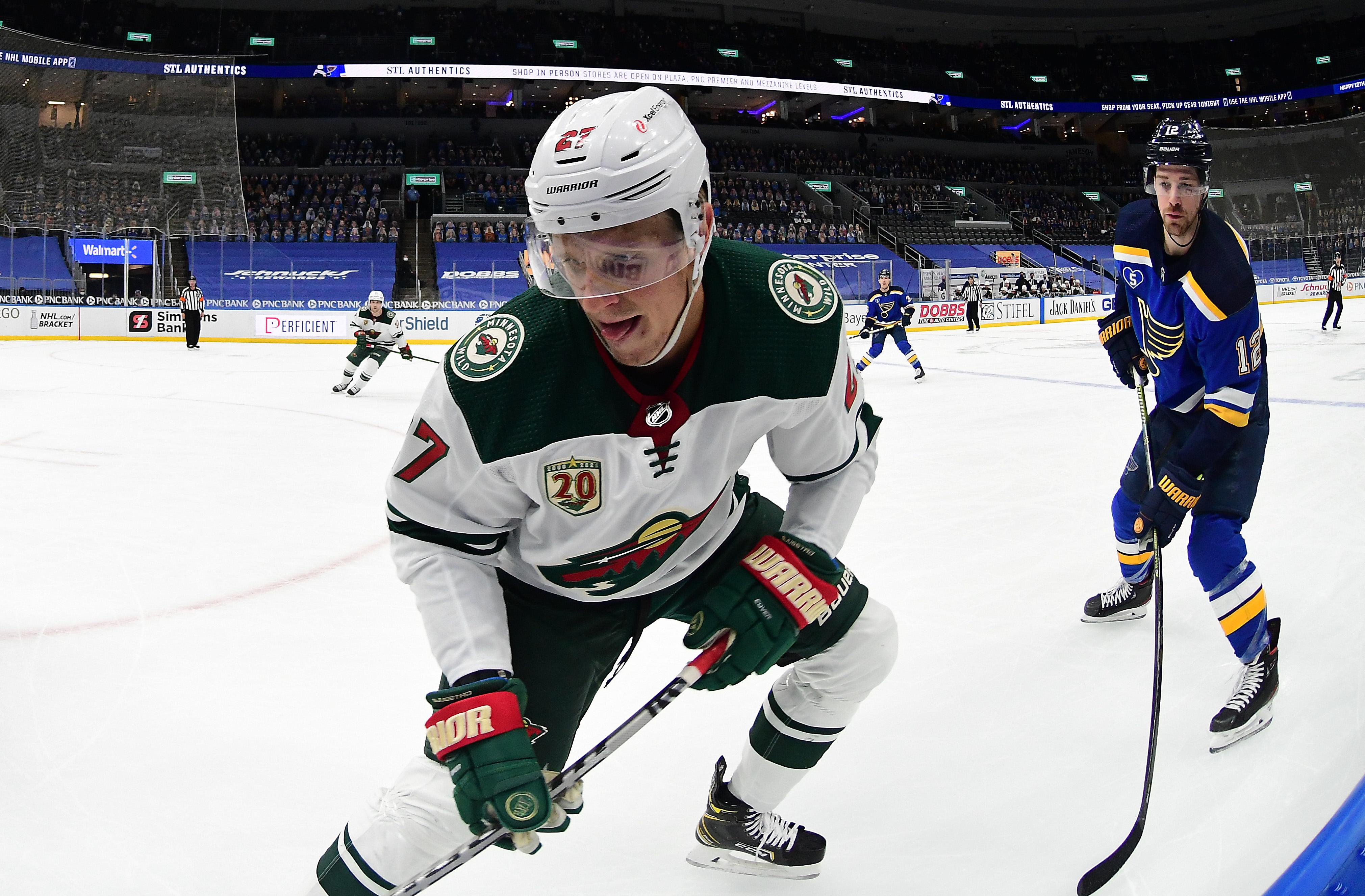 NHL: MAY 13 Wild at Blues