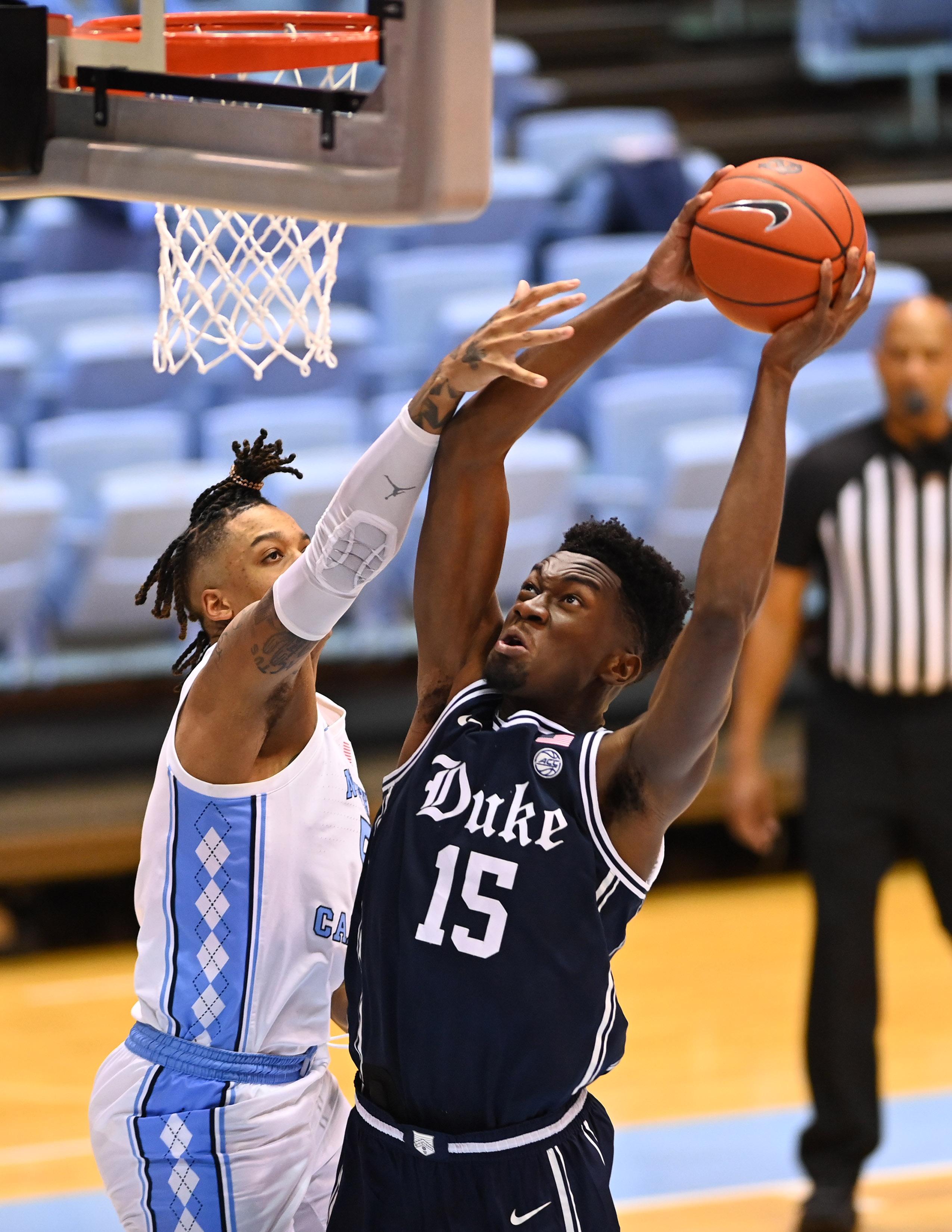 NCAA Basketball: Duke at North Carolina