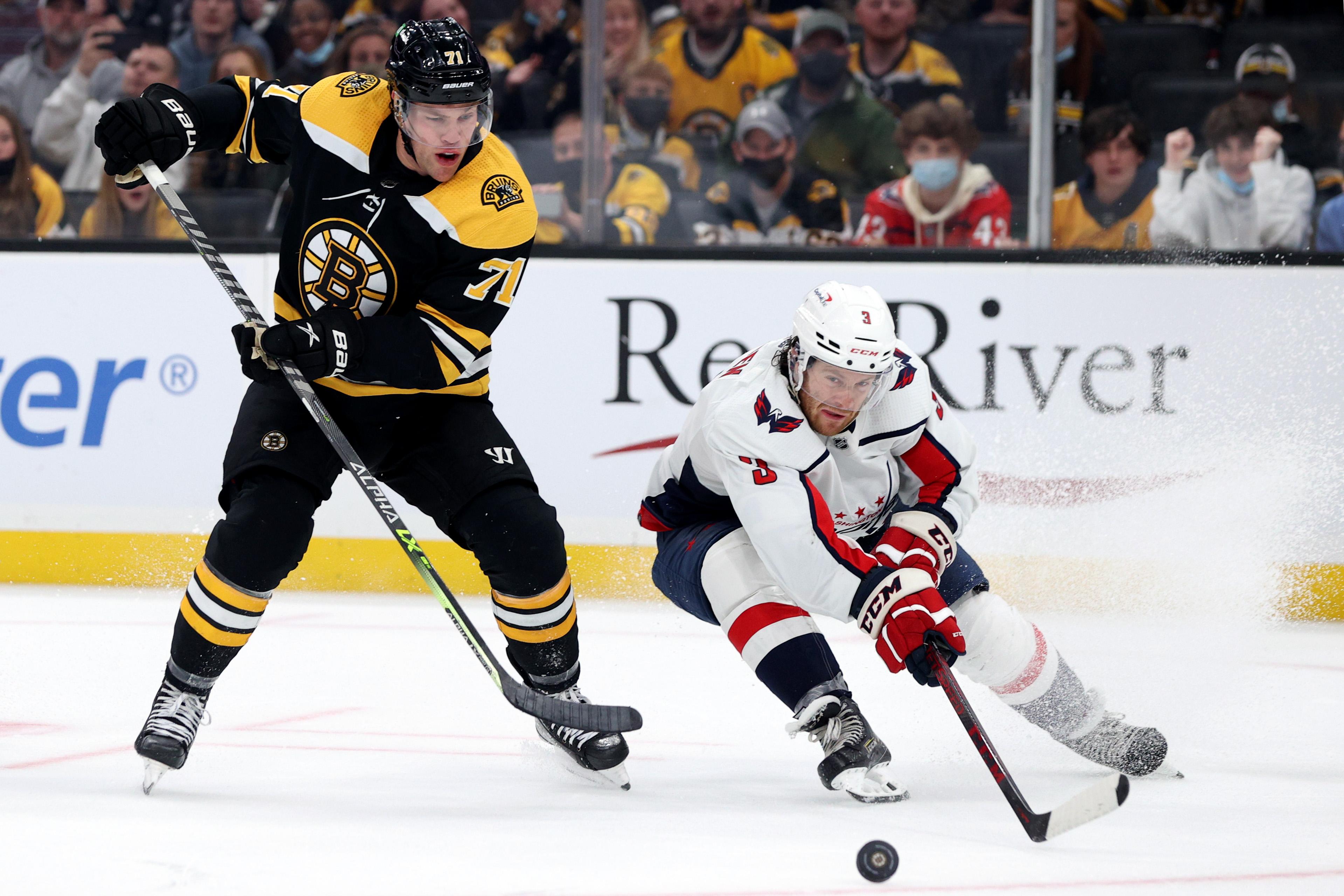 Washington Capitals v Boston Bruins