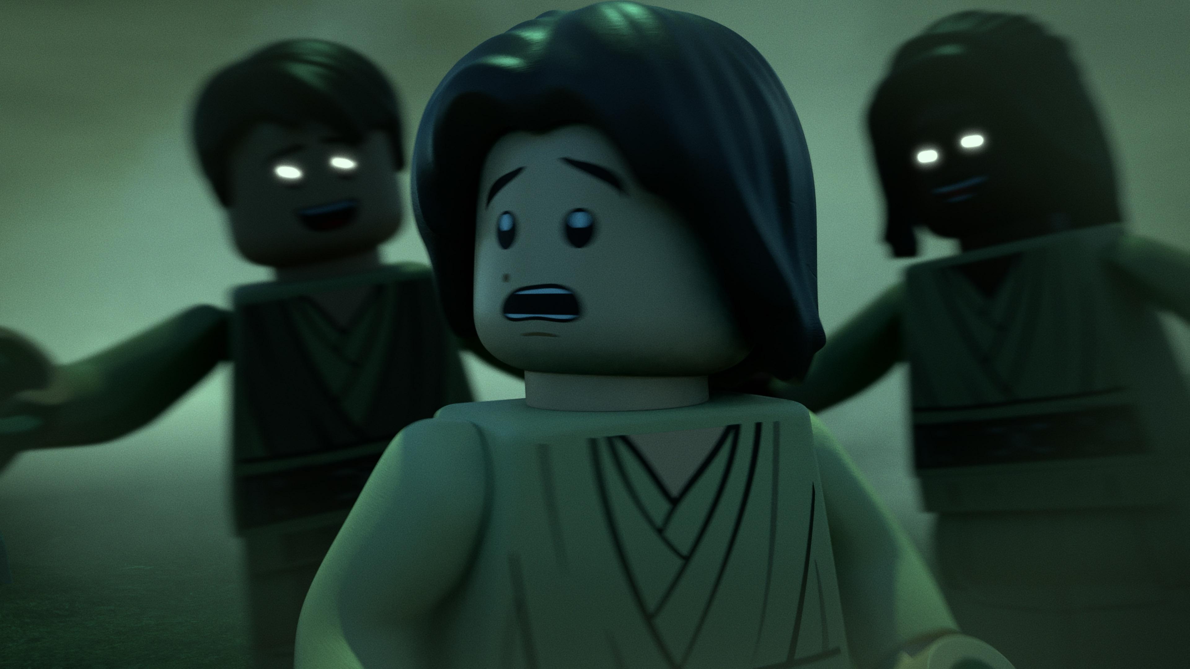 """Ben Solo in """"Lego Star Wars Terrifying Tales."""""""