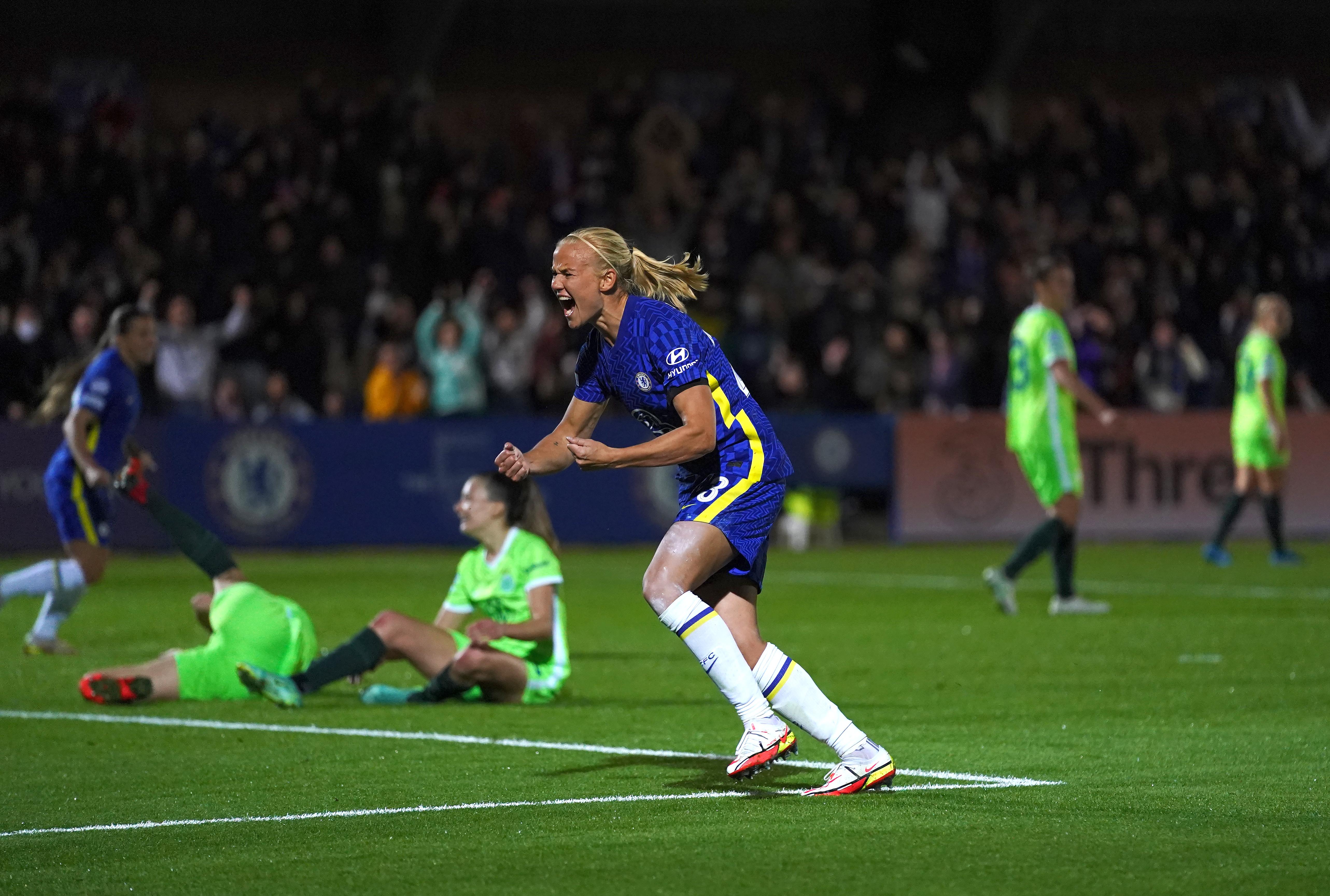 Chelsea v Wolfsburg - UEFA Women's Champions League - Group A - Kingsmeadow