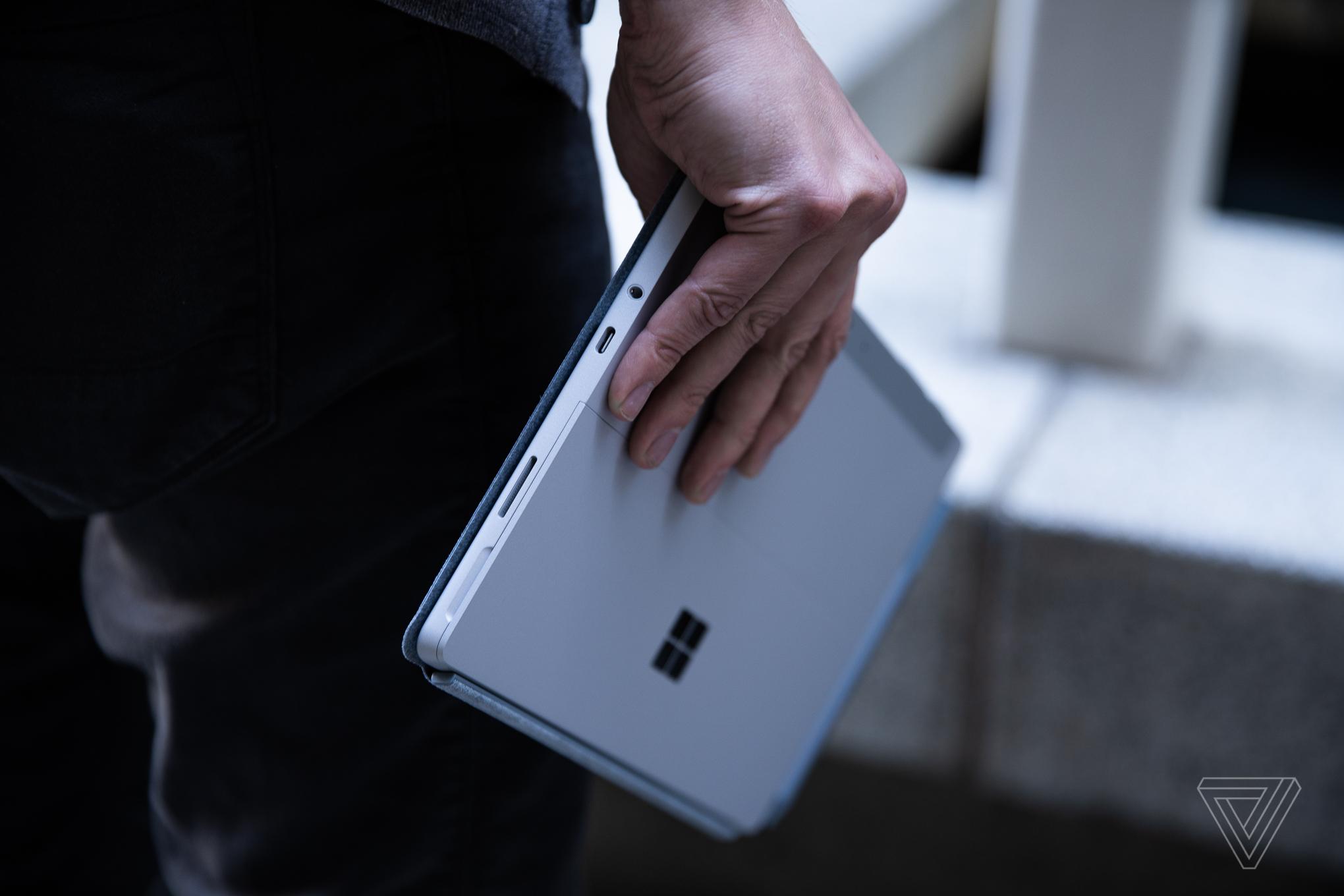 The Microsoft Surface Go 3