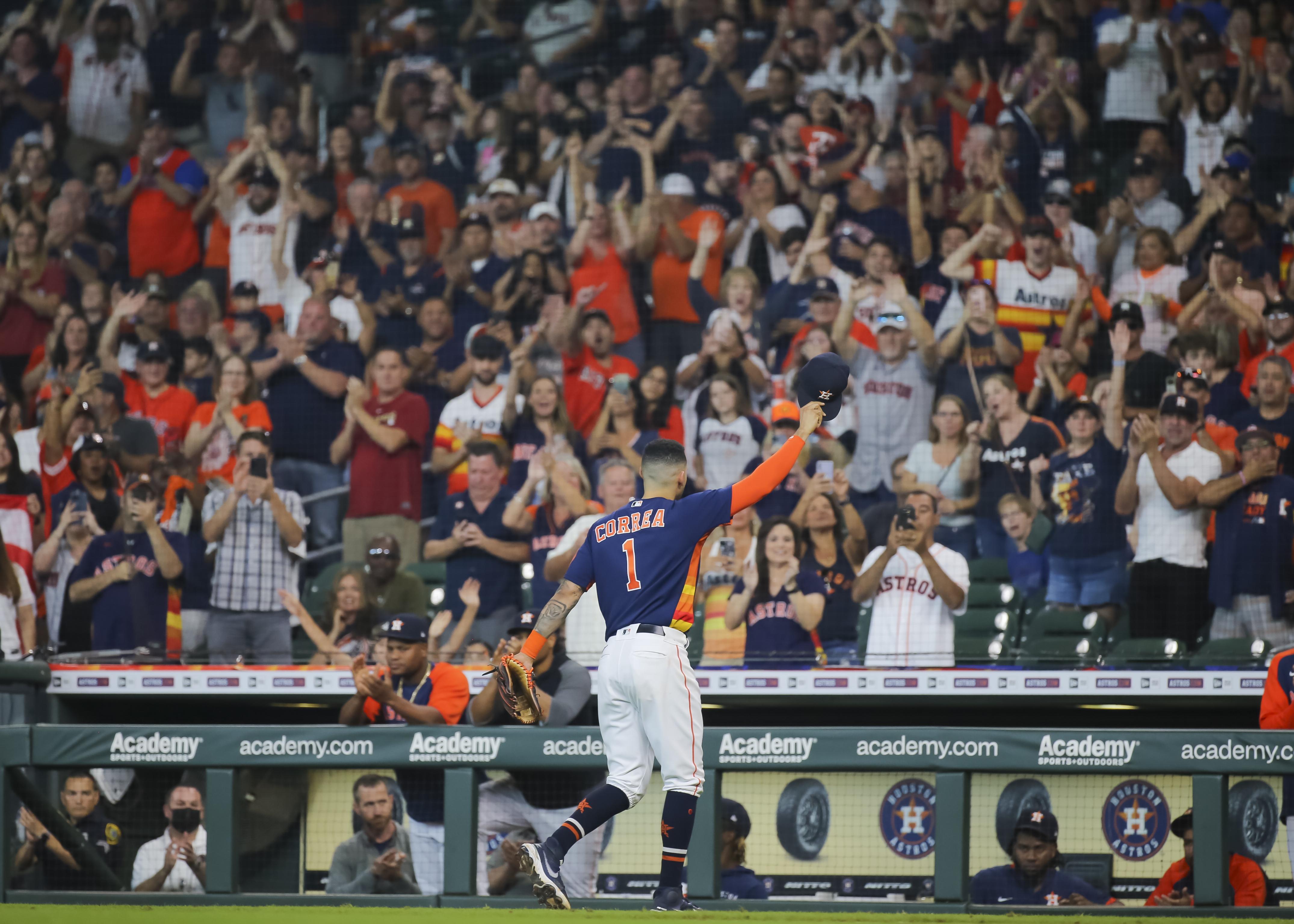MLB: OCT 03 Athletics at Astros