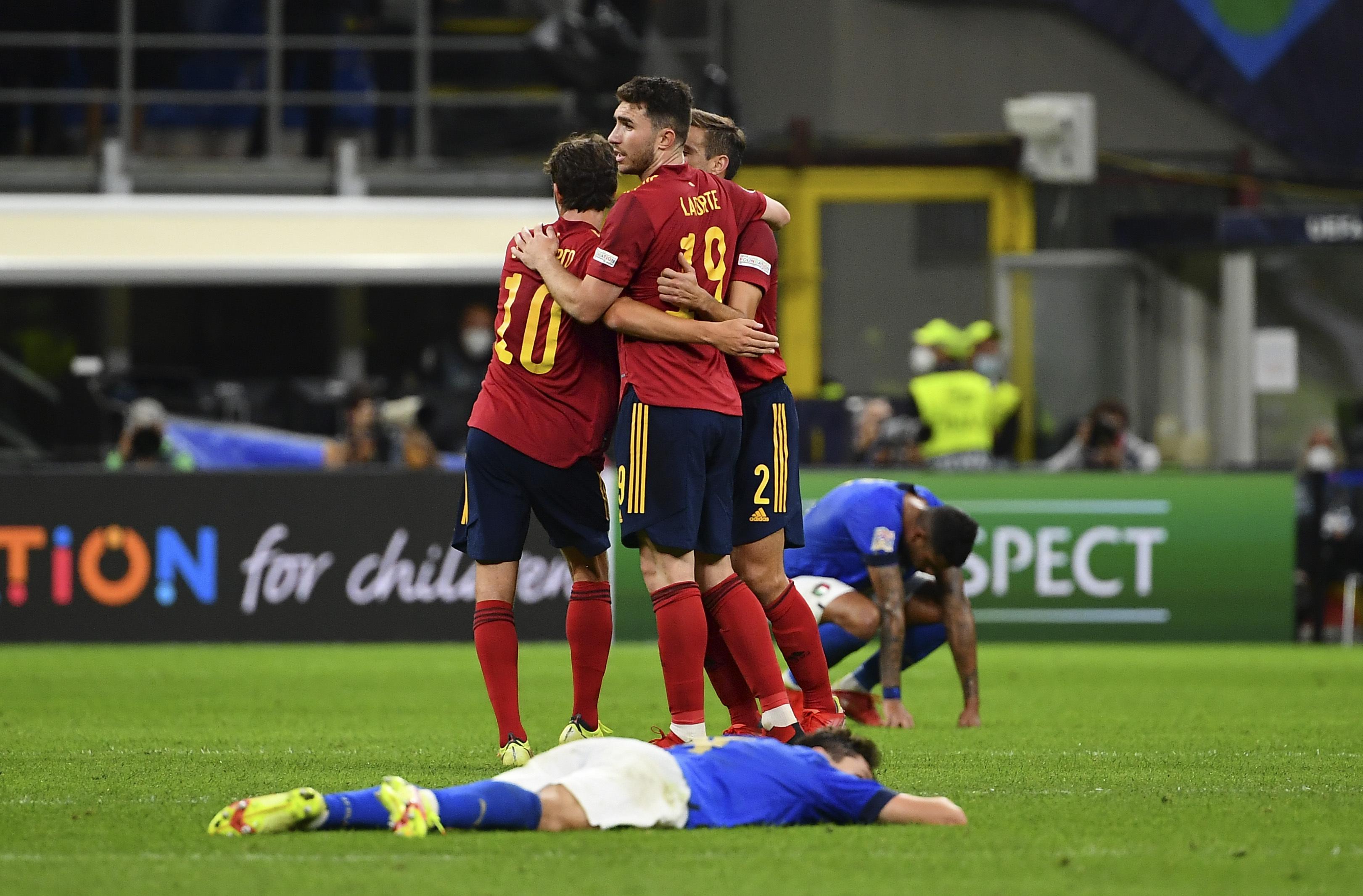 意大利vs西班牙:欧足联国家联赛