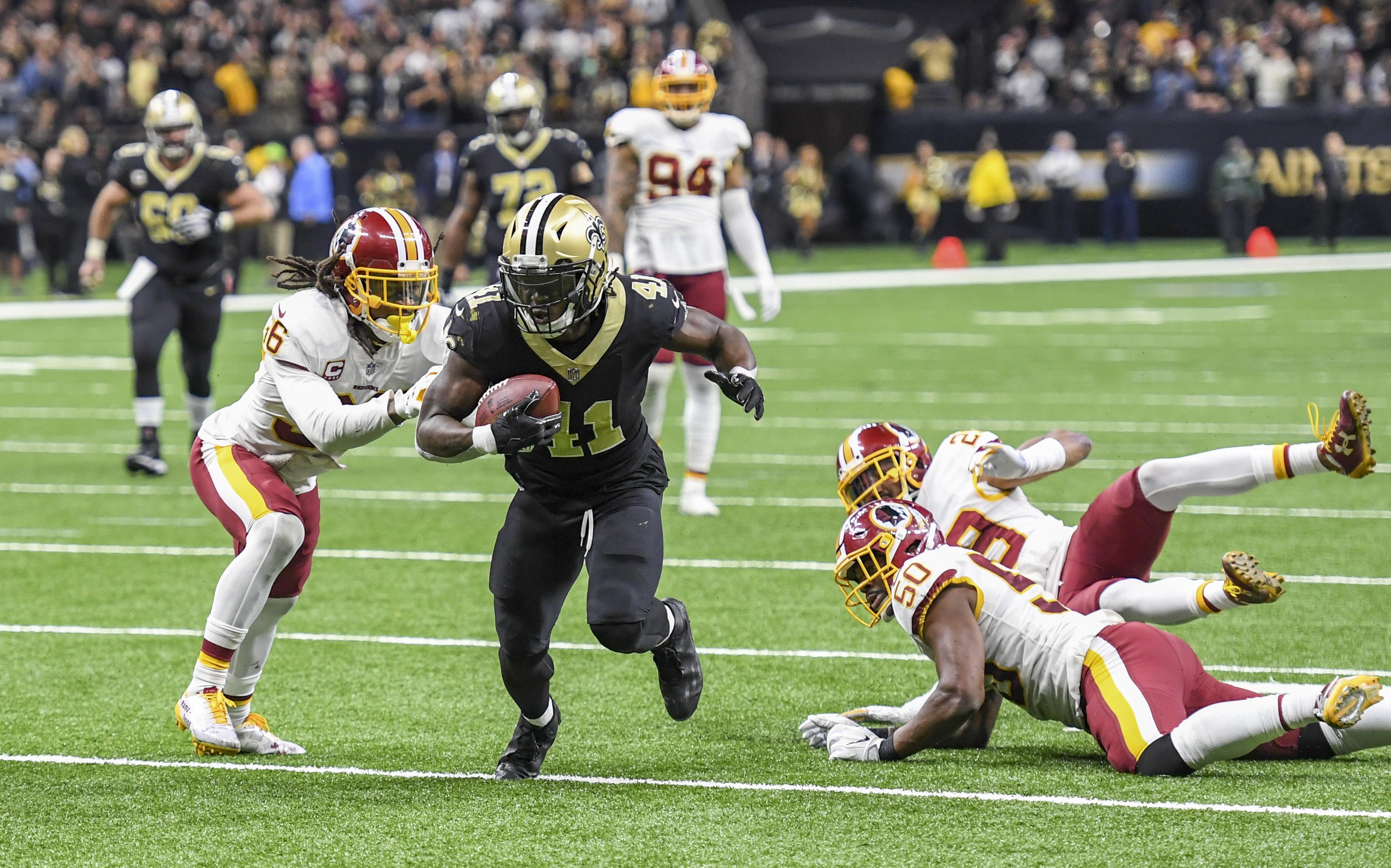 NFL-Washington Redskins at New Orleans Saints
