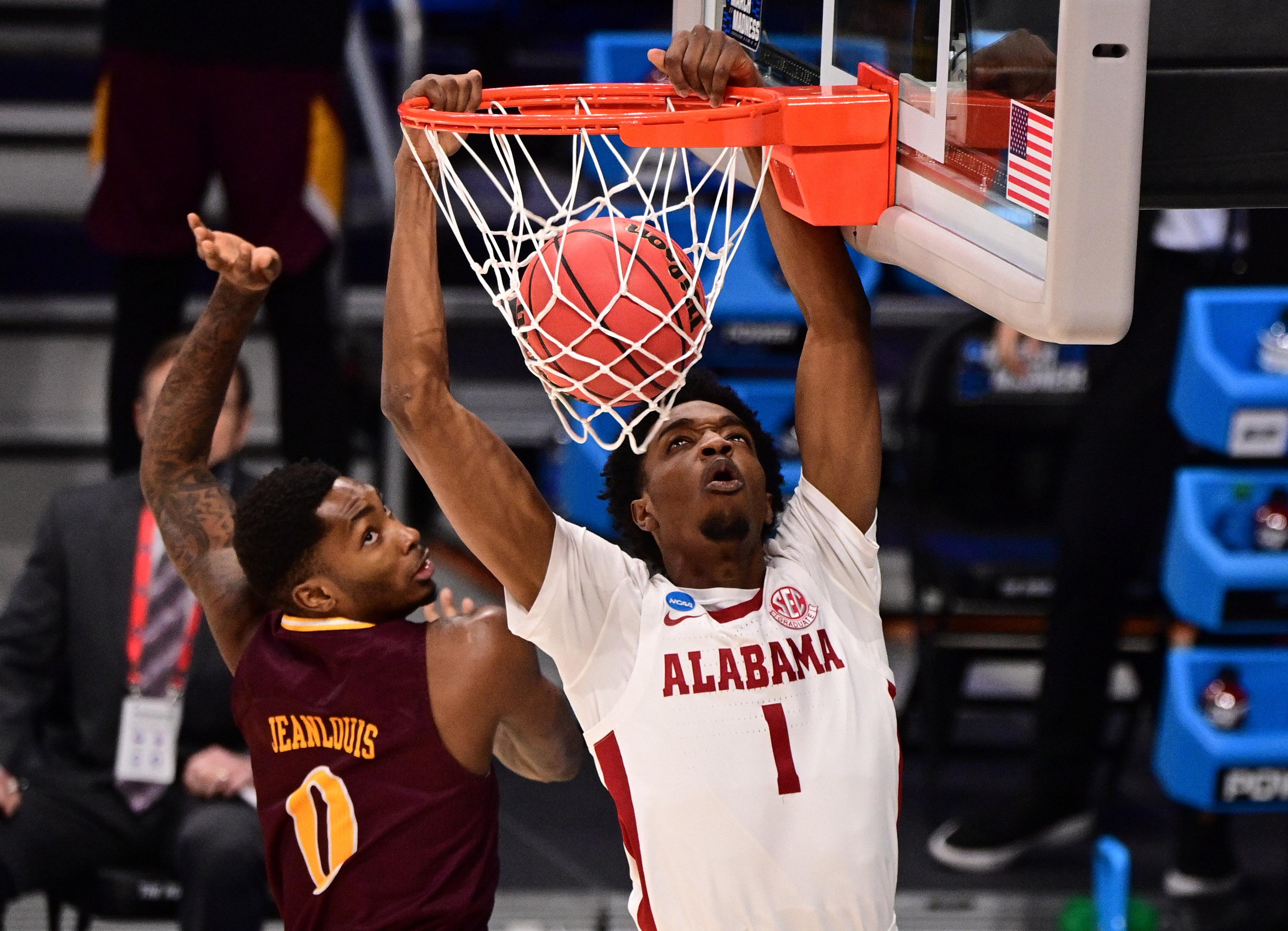 "<p zoompage-fontsize=""15"" style="""">NCAA Basketball: NCAA Tournament-Iona at Alabama"