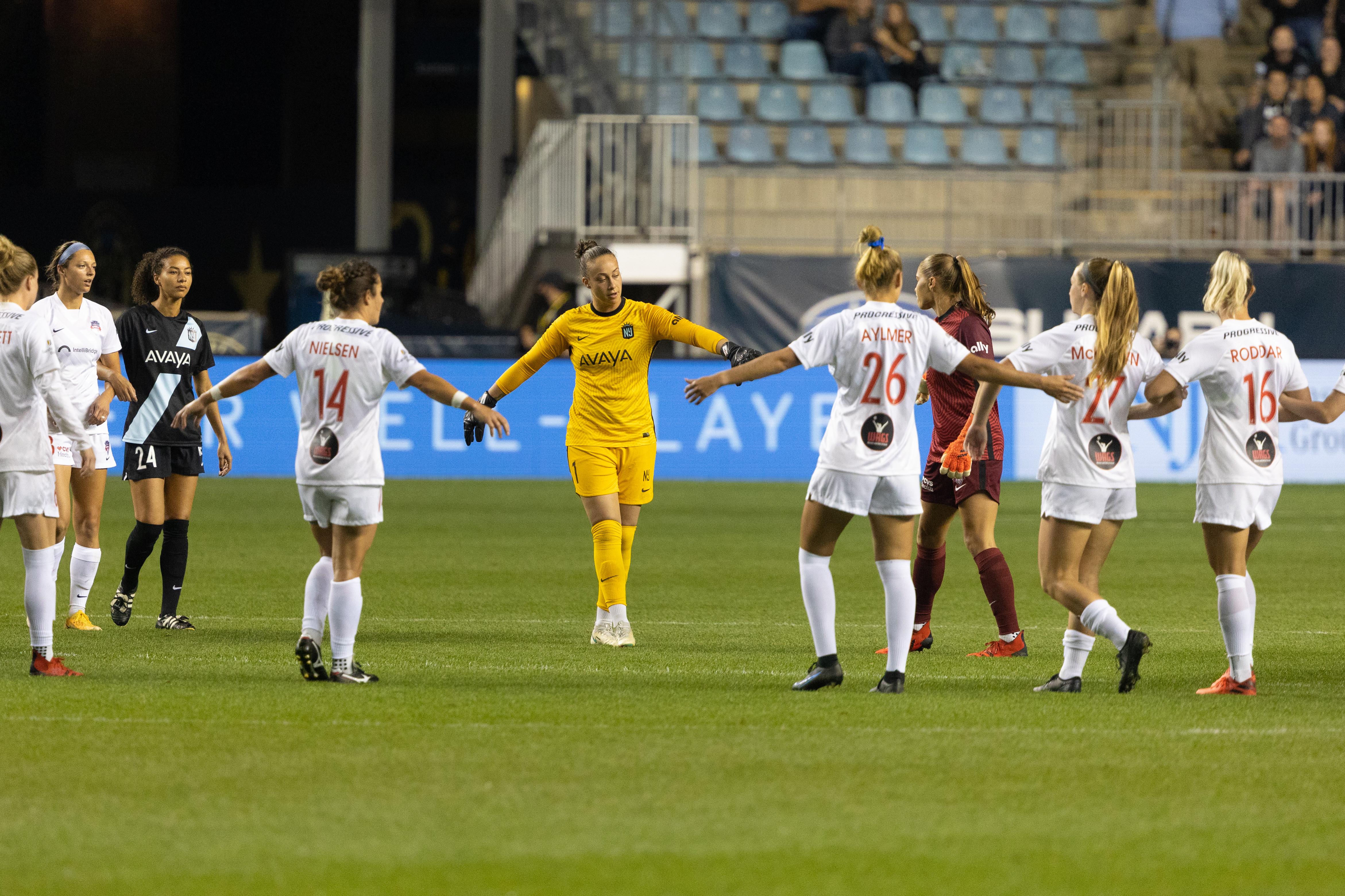 NWSL: National Women's Soccer League-Washington Spirit at NJ/NY Gotham FC