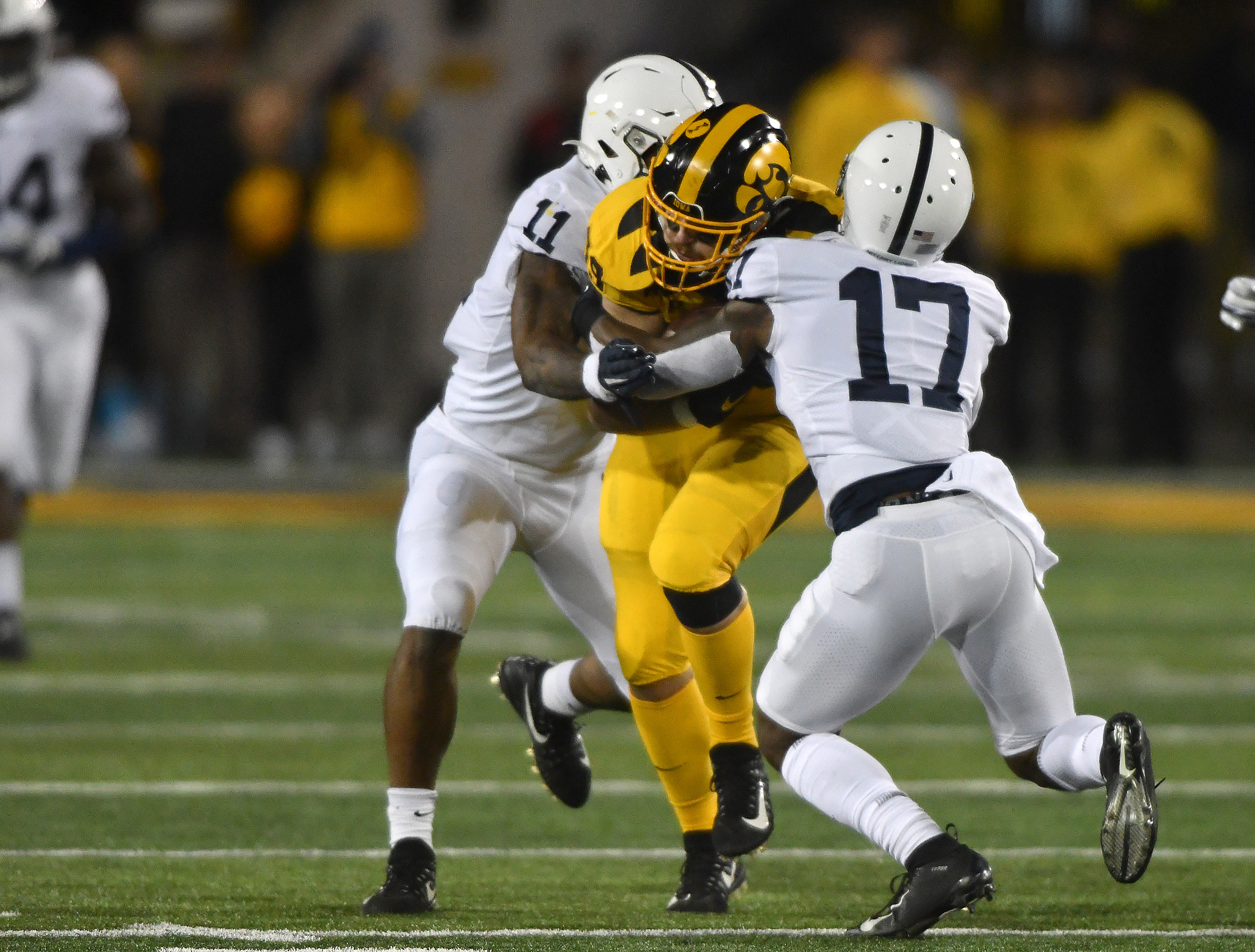COLLEGE FOOTBALL: OCT 12 Penn State at Iowa