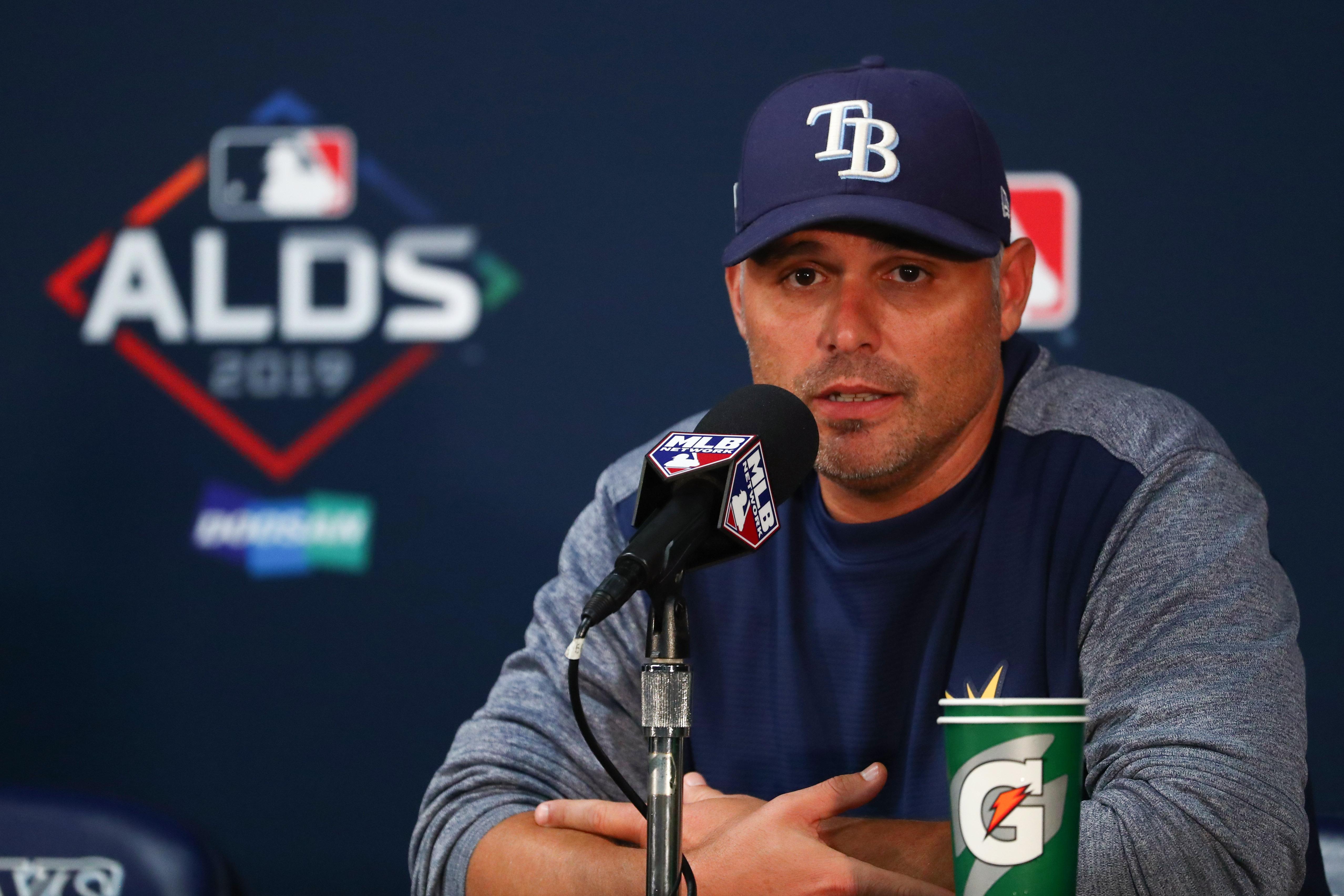 MLB: ALDS-Houston Astros at Tampa Bay Rays