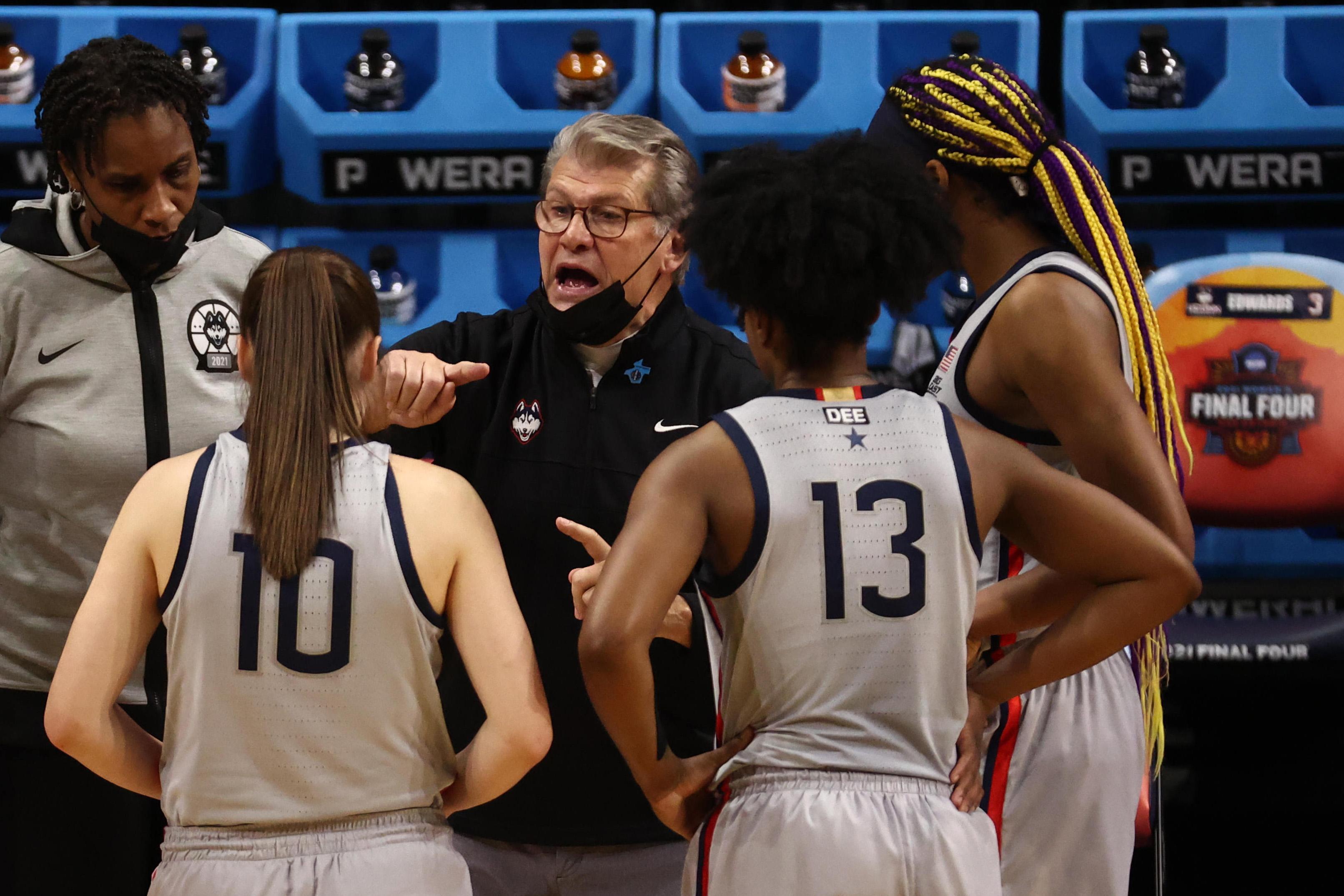 NCAA Womens Basketball: Final Four Semifinal-Arizona at Connecticut