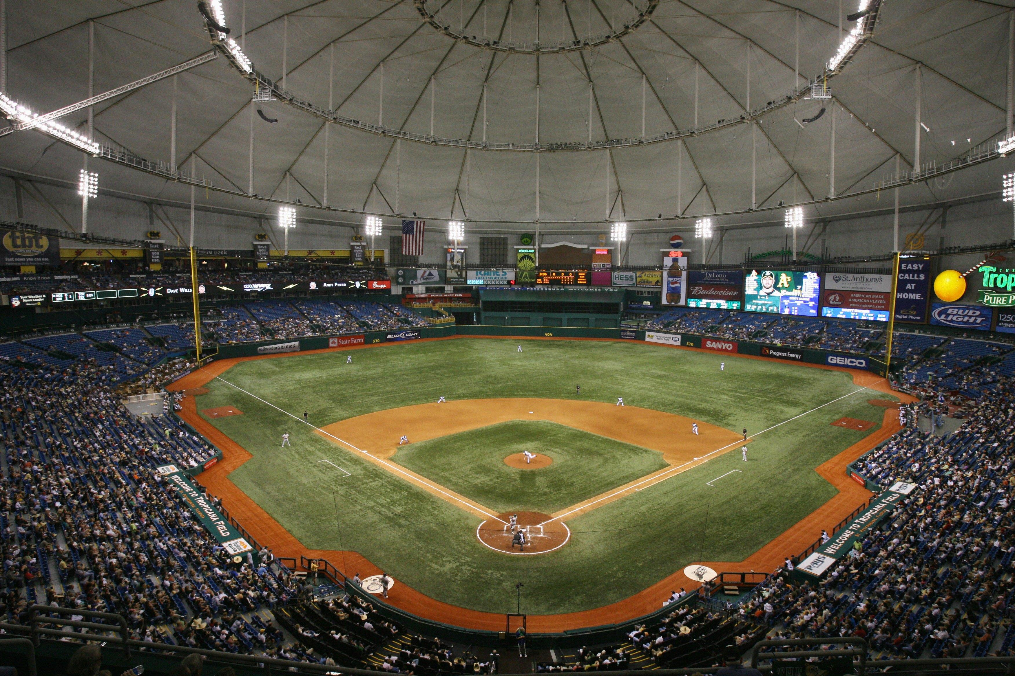 Oakland Athletics v Tampa Bay Devil Rays