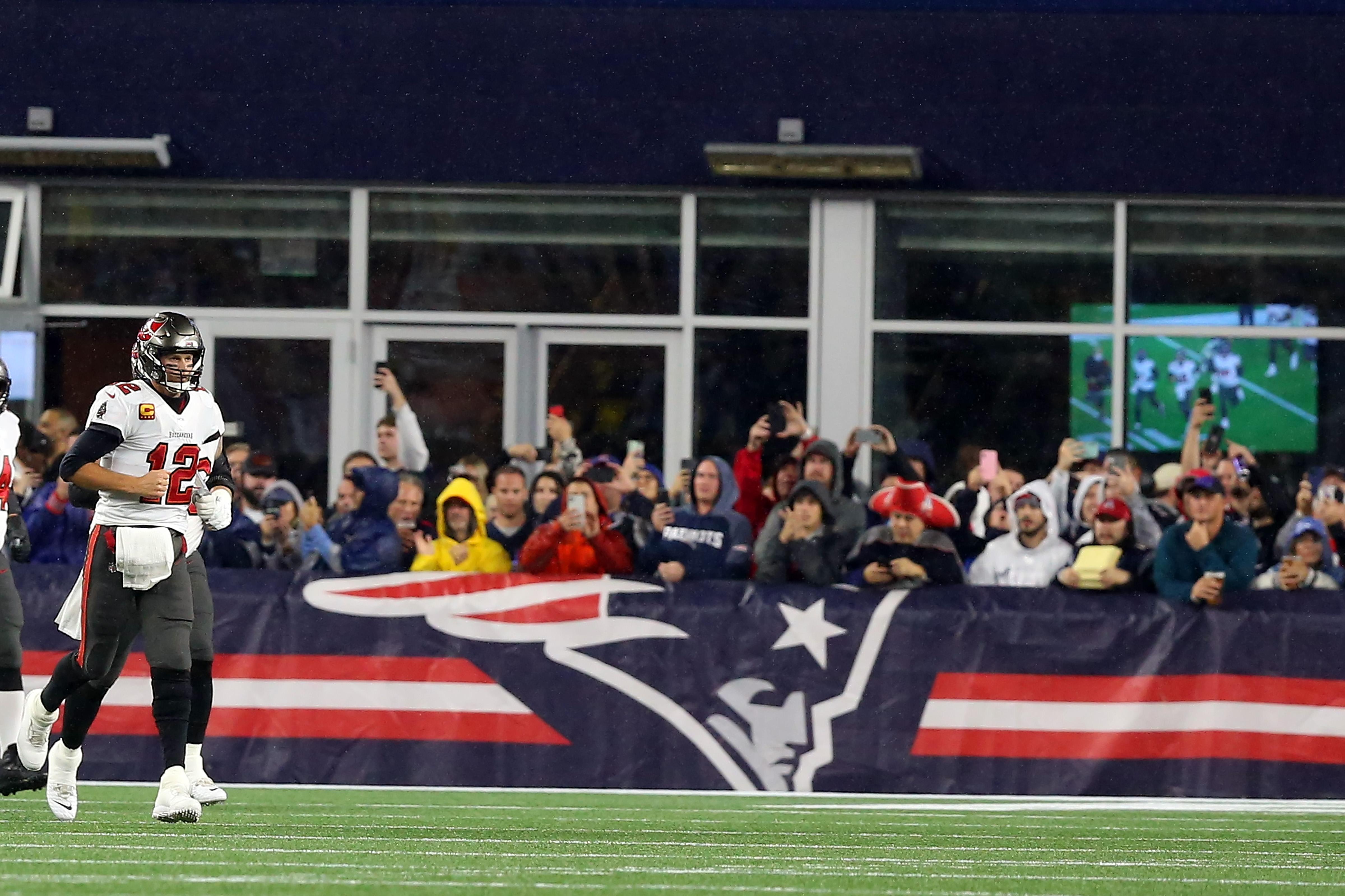 NFL: OCT 03 Buccaneers at Patriots