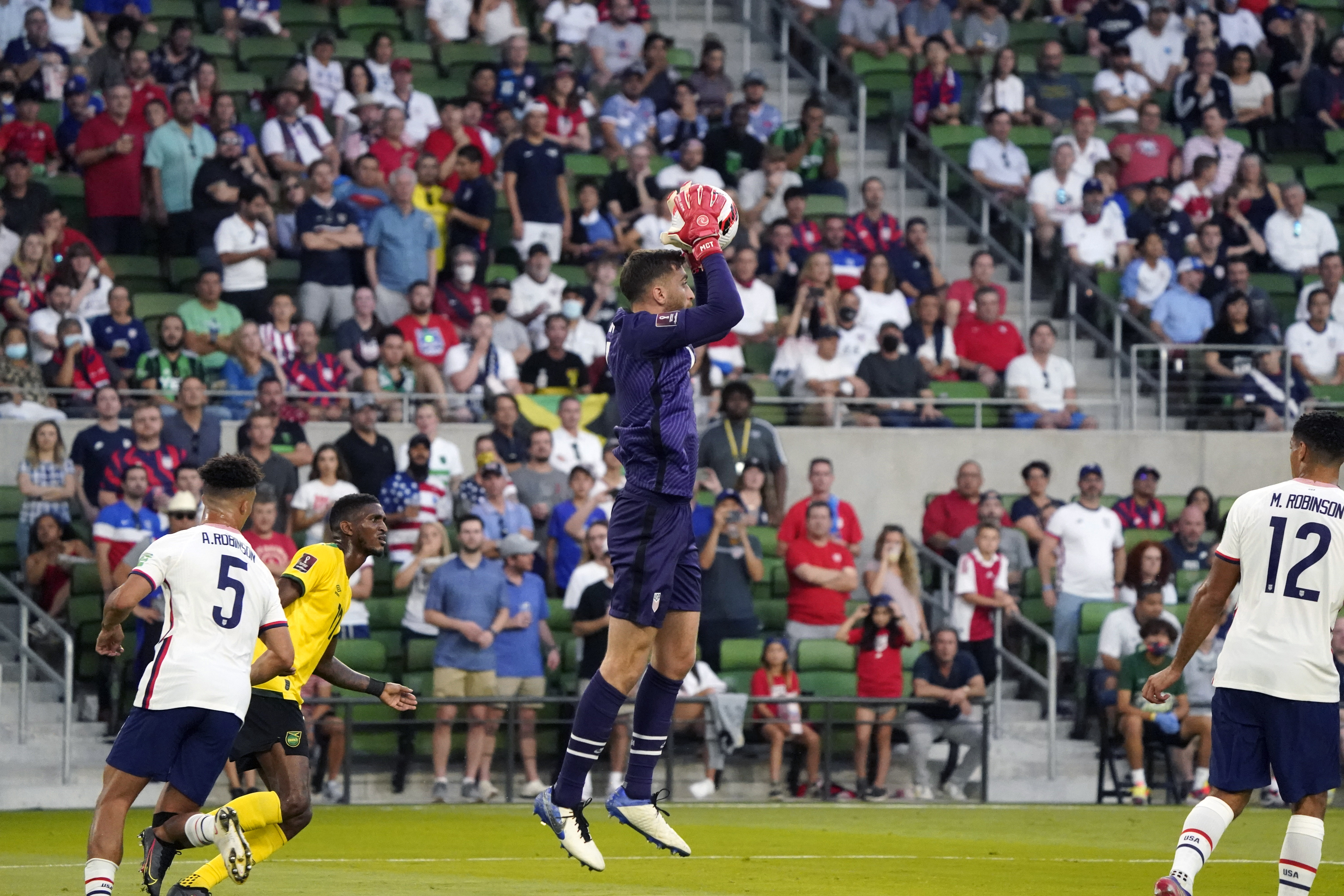 Soccer: CONCACAF FIFA World Cup Qualifier-Jamaica at USA