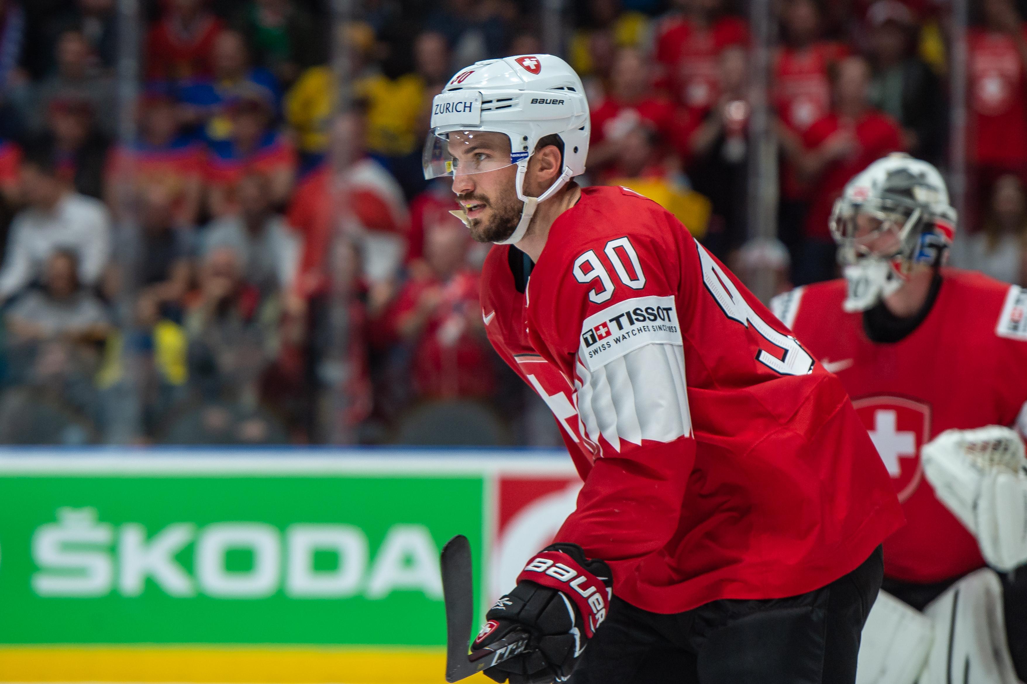 Sweden v Switzerland: Group B - 2019 IIHF Ice Hockey World Championship Slovakia