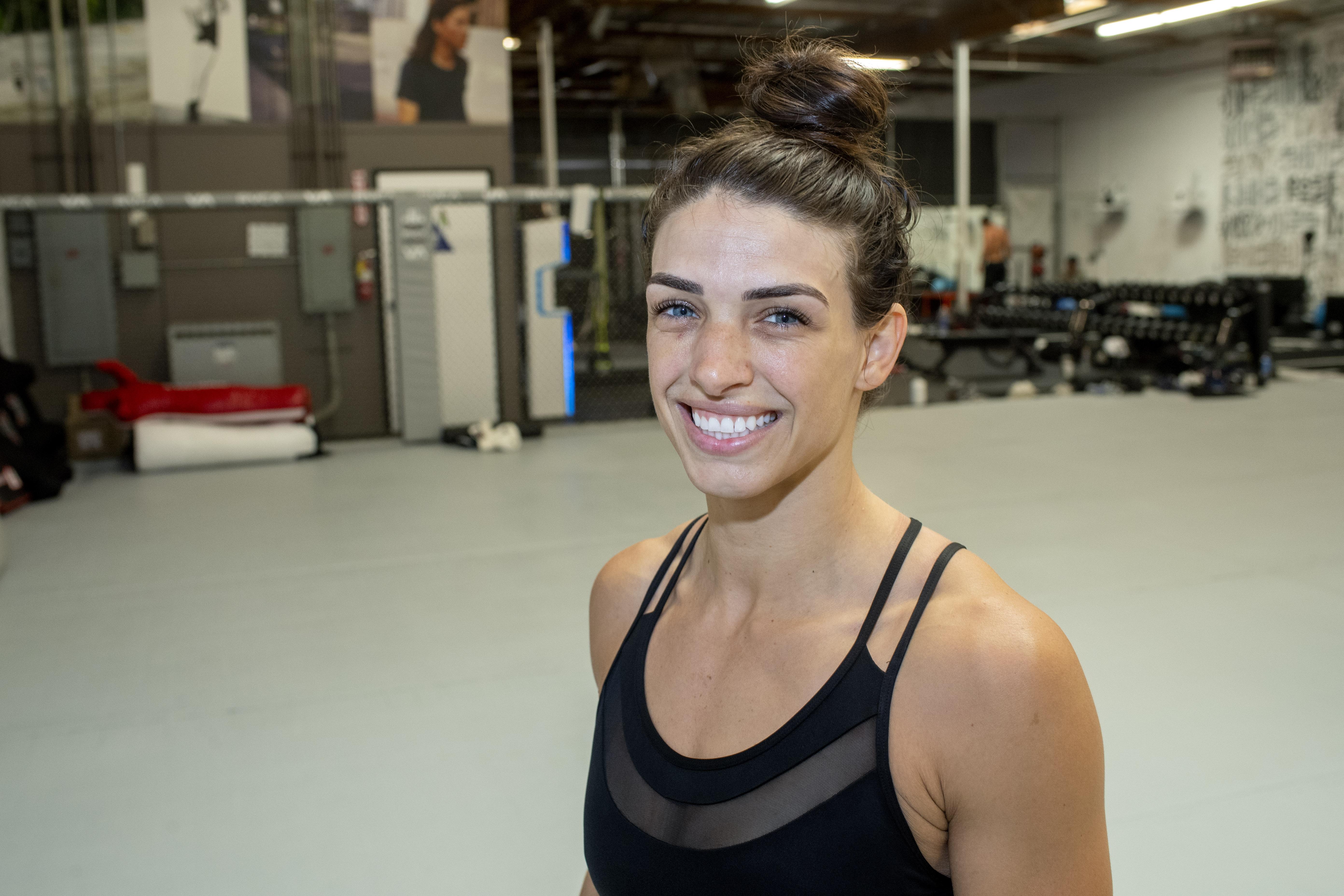 Mackenzie Dern is set to face Marina Rodriguez on October 9.