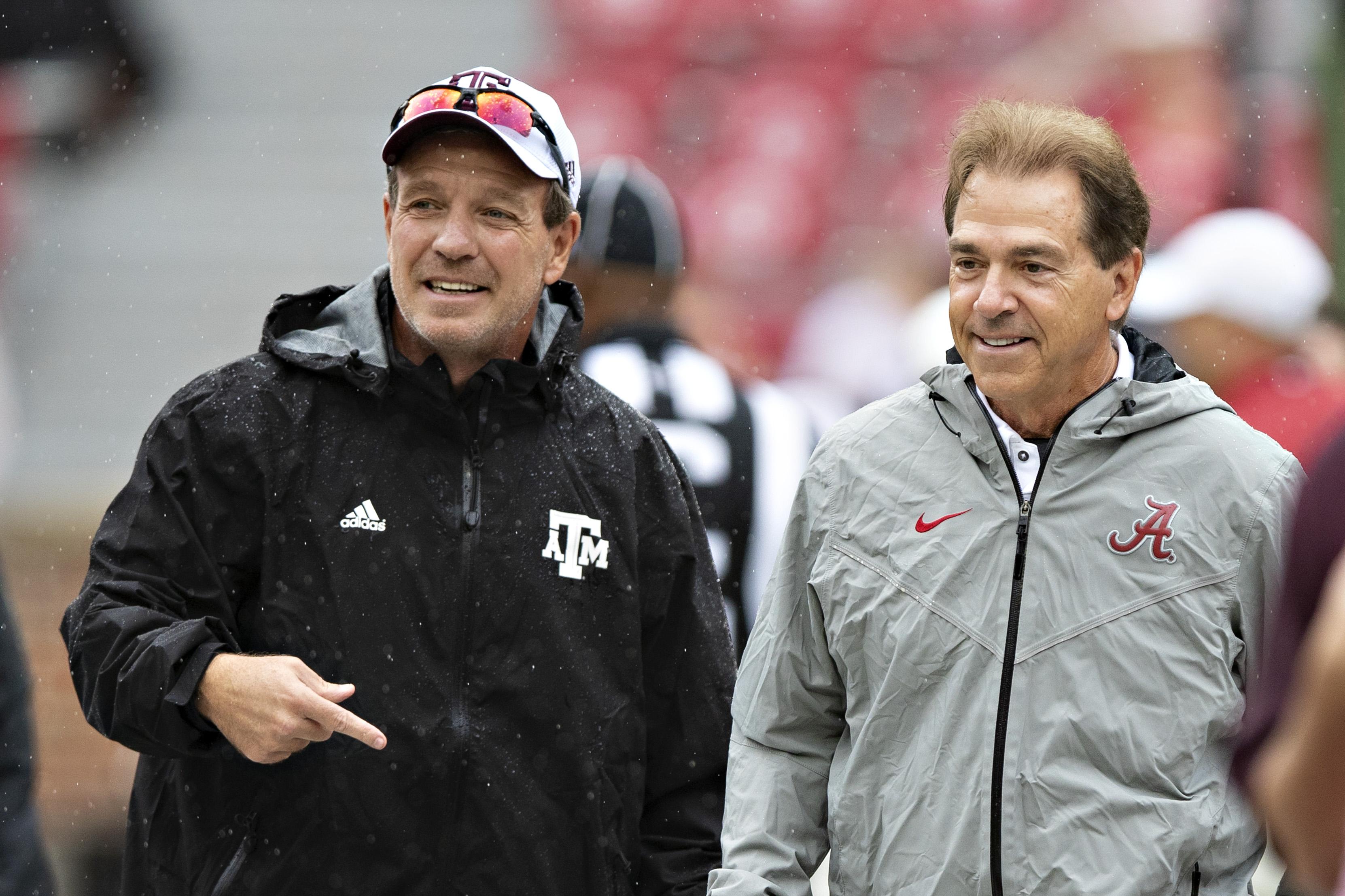 Texas A&M v Alabama
