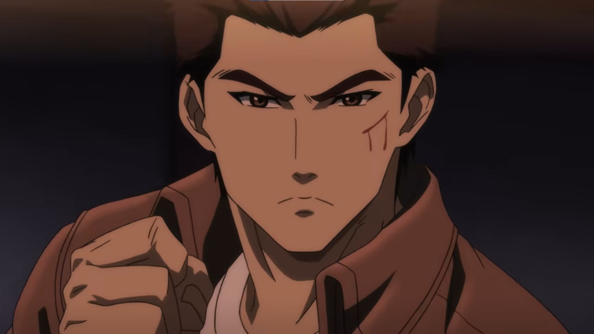 Ryo from the Shenmue anime
