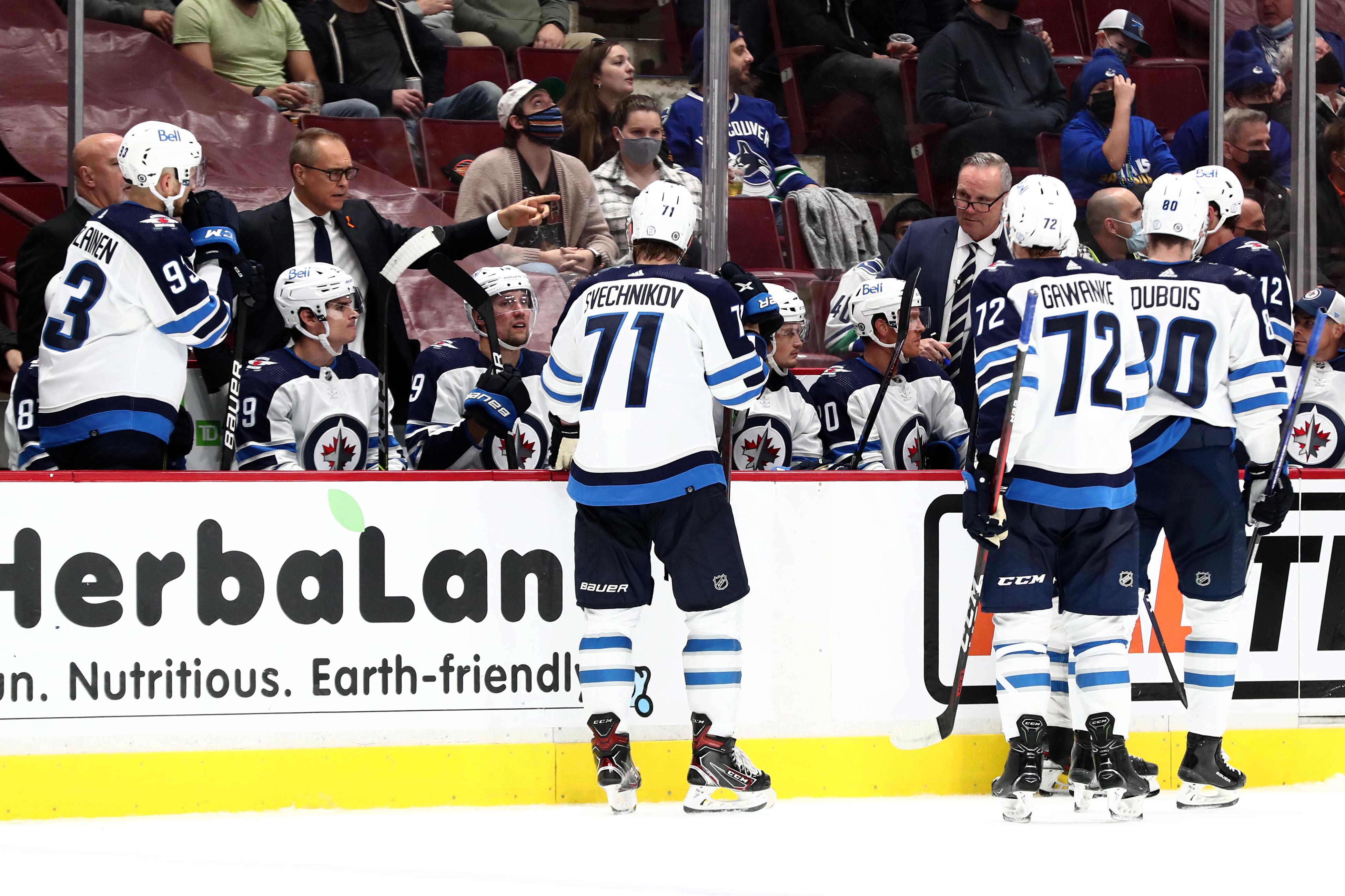 NHL: OCT 03 Preseason - Jets at Canucks