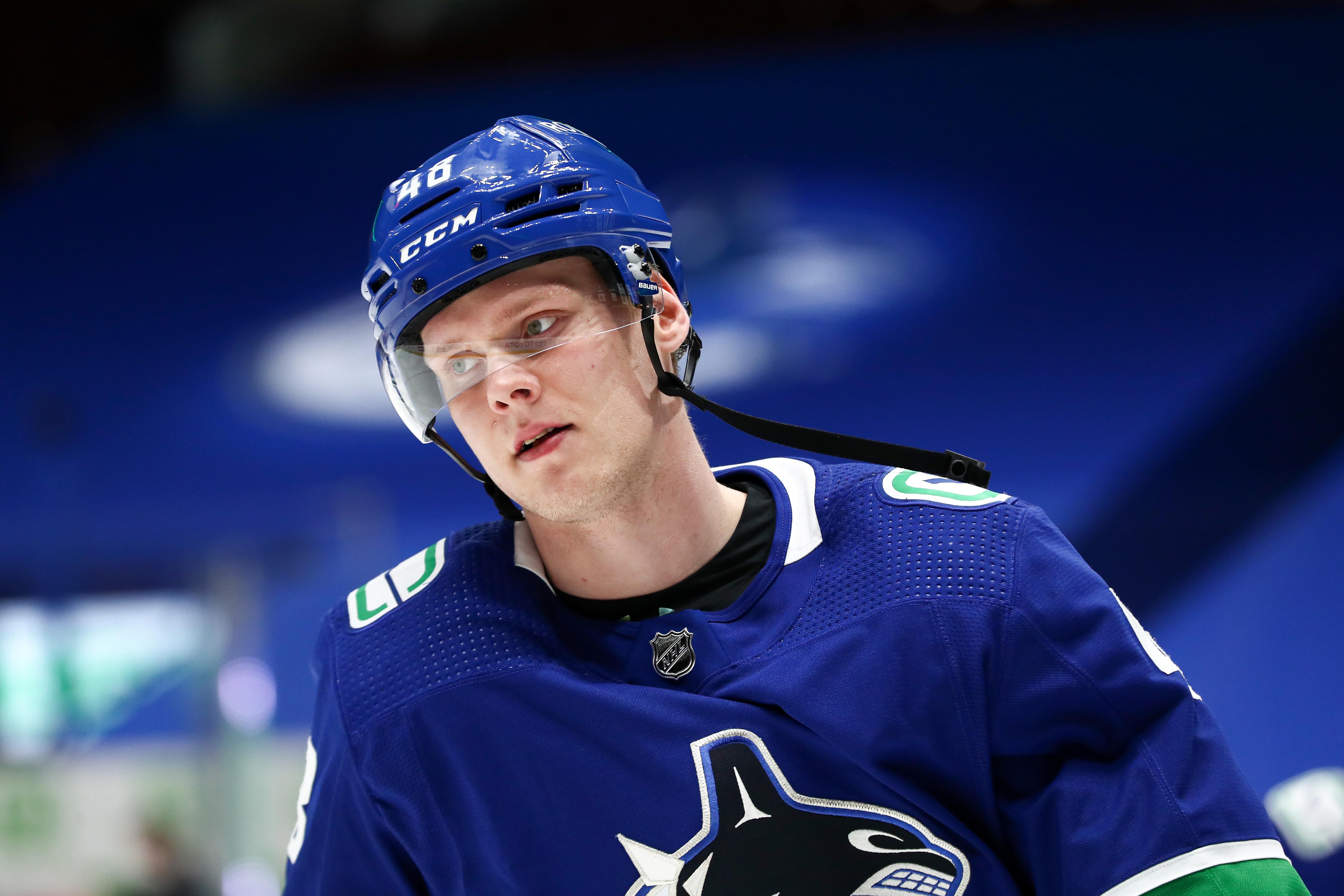 NHL: MAY 03 Oilers at Canucks