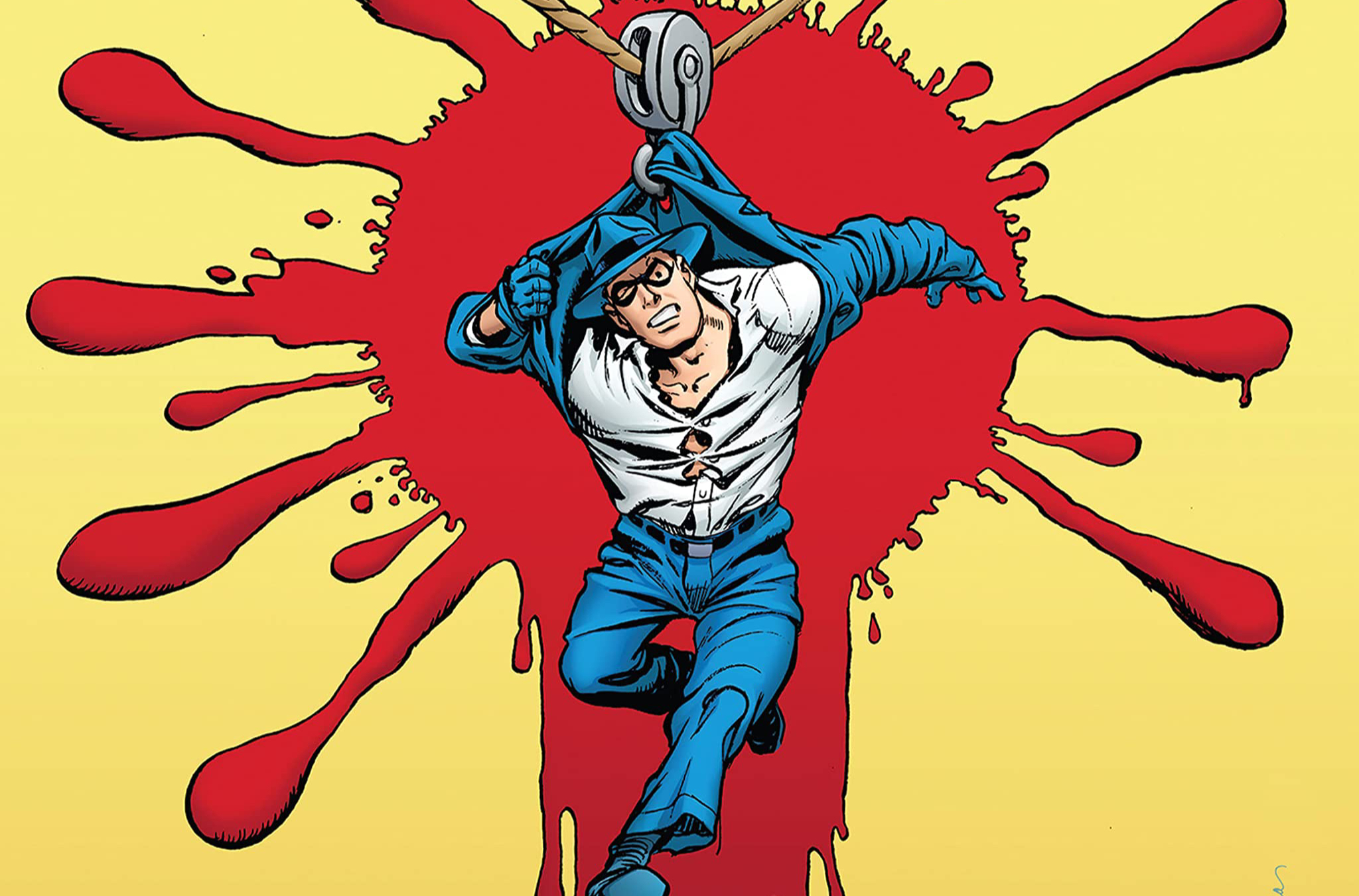 A comic book image of a Will Eisner character