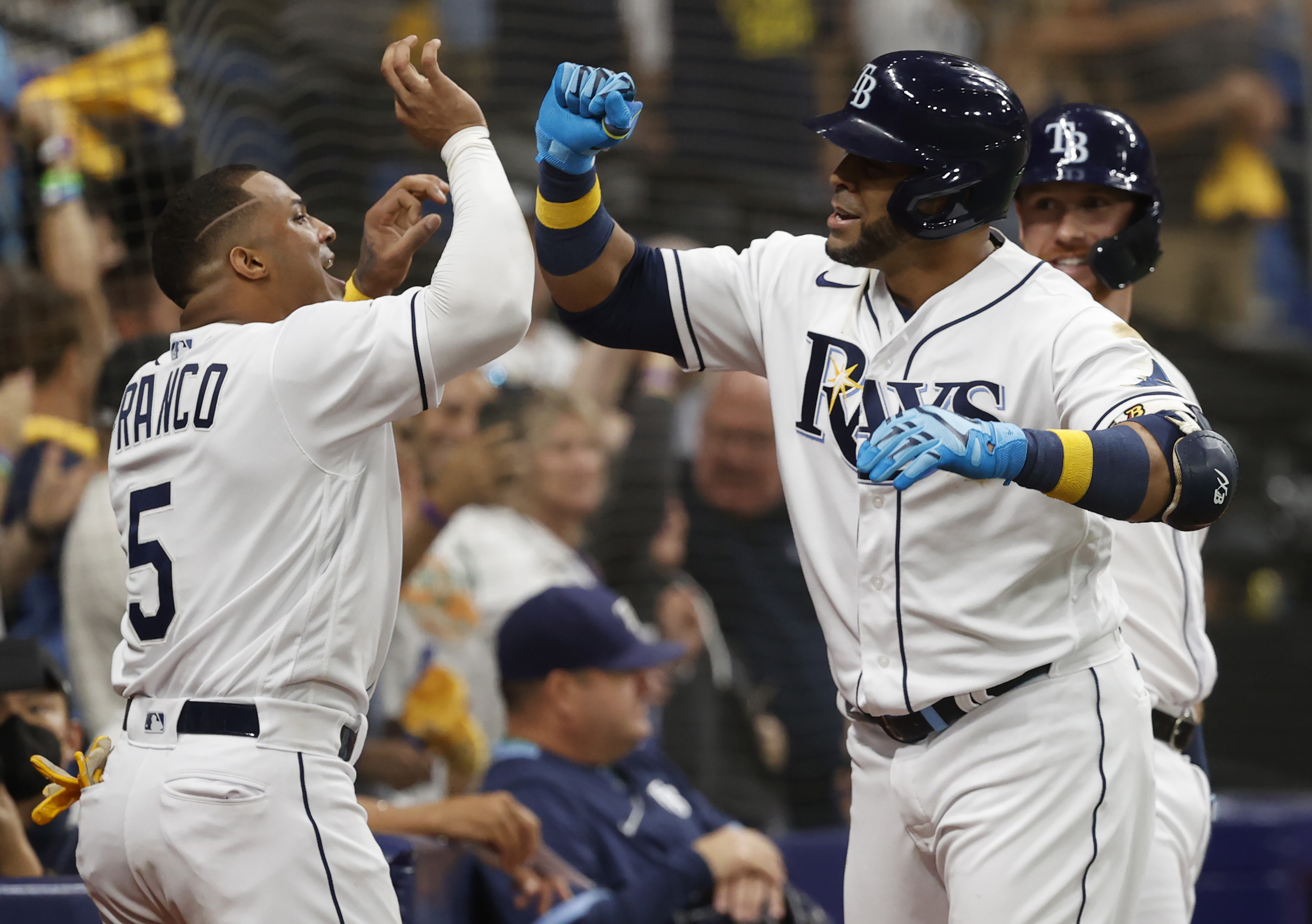 MLB: ALDS-Boston Red Sox at Tampa Bay Rays