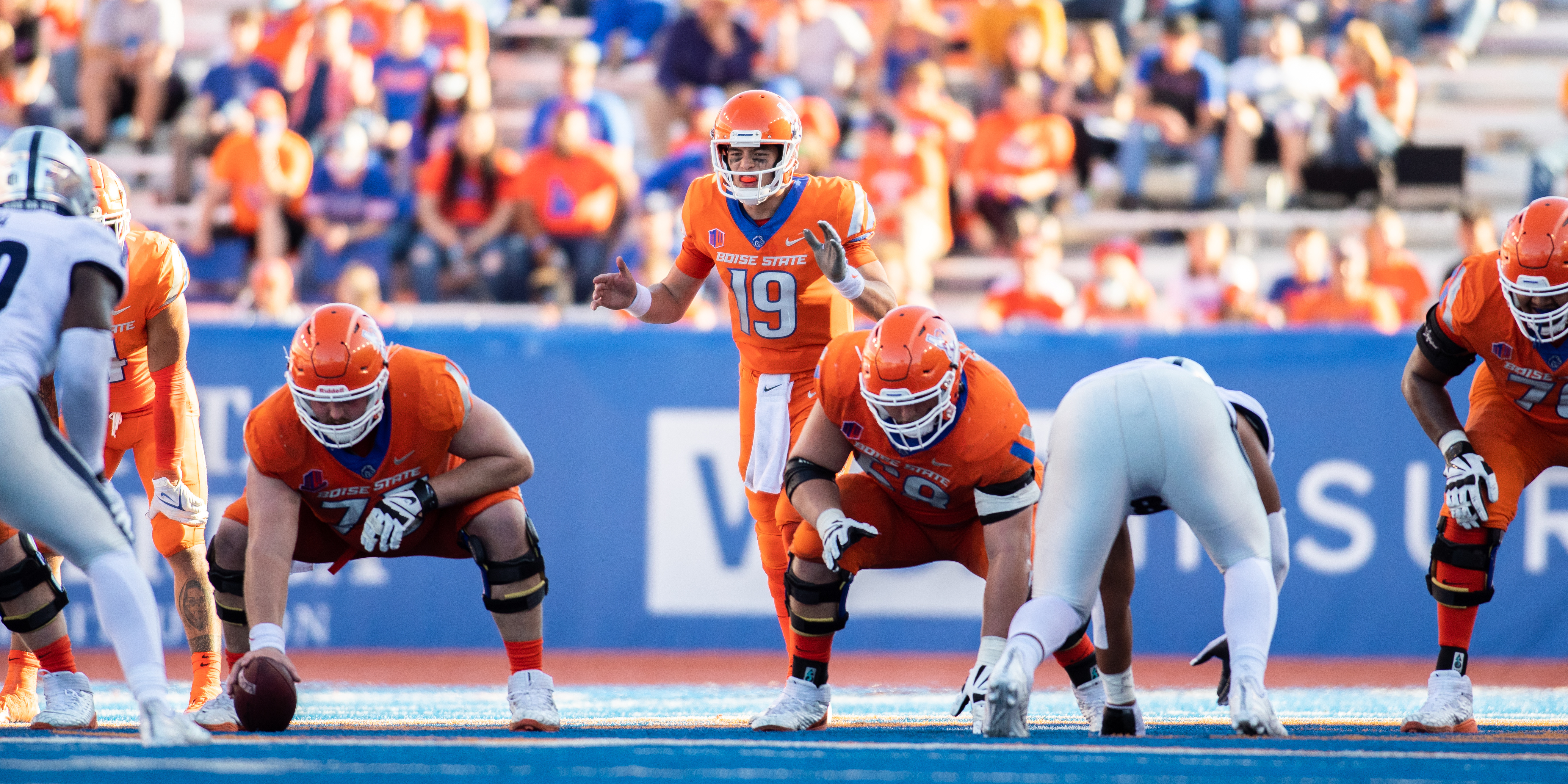 COLLEGE FOOTBALL: OCT 02 Nevada at Boise State