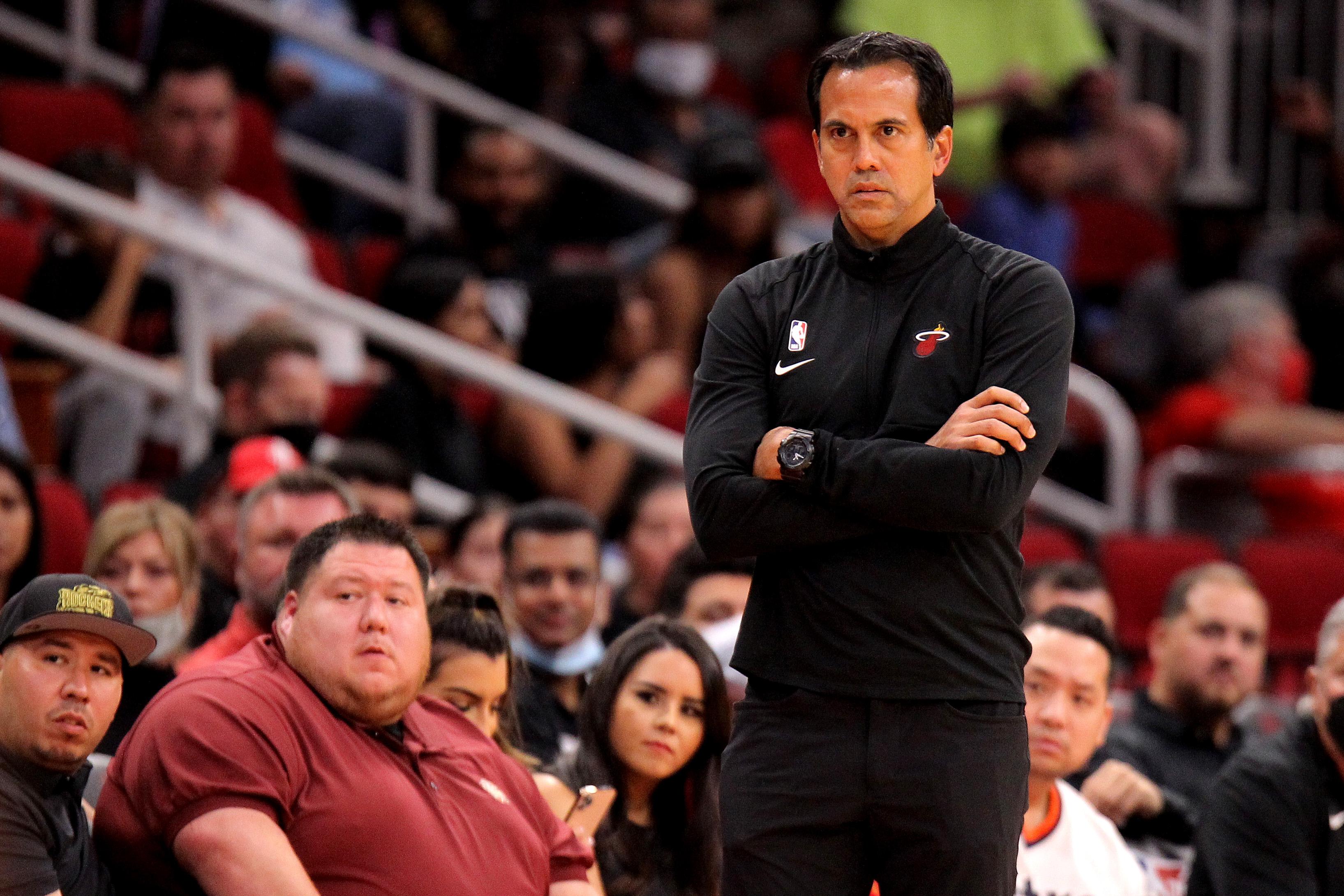 NBA: Preseason-Miami Heat at Houston Rockets