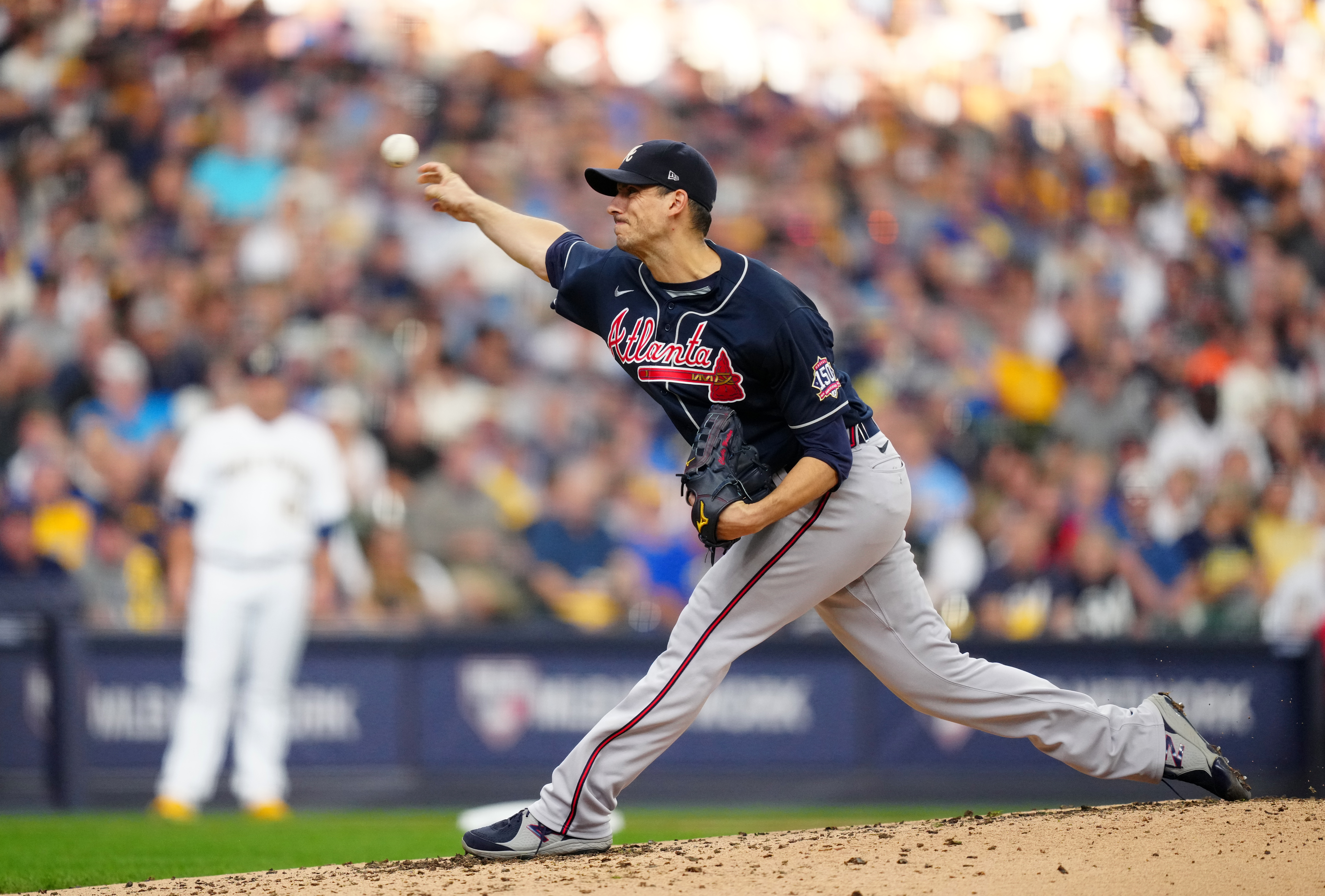 Division Series - Atlanta Braves v. Milwaukee Brewers - Game One