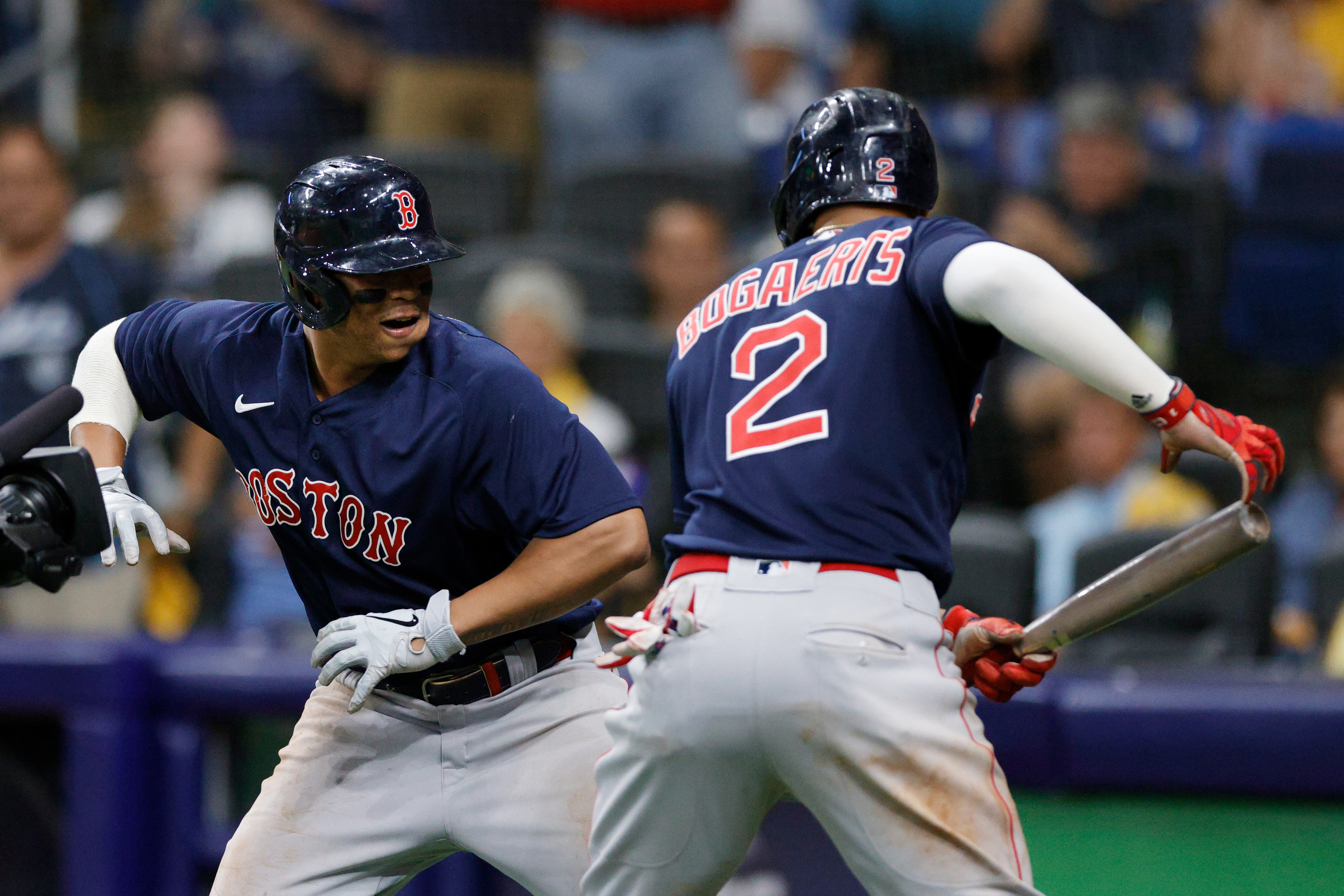 Division Series - Boston Red Sox v Tampa Bay Rays - Game Two