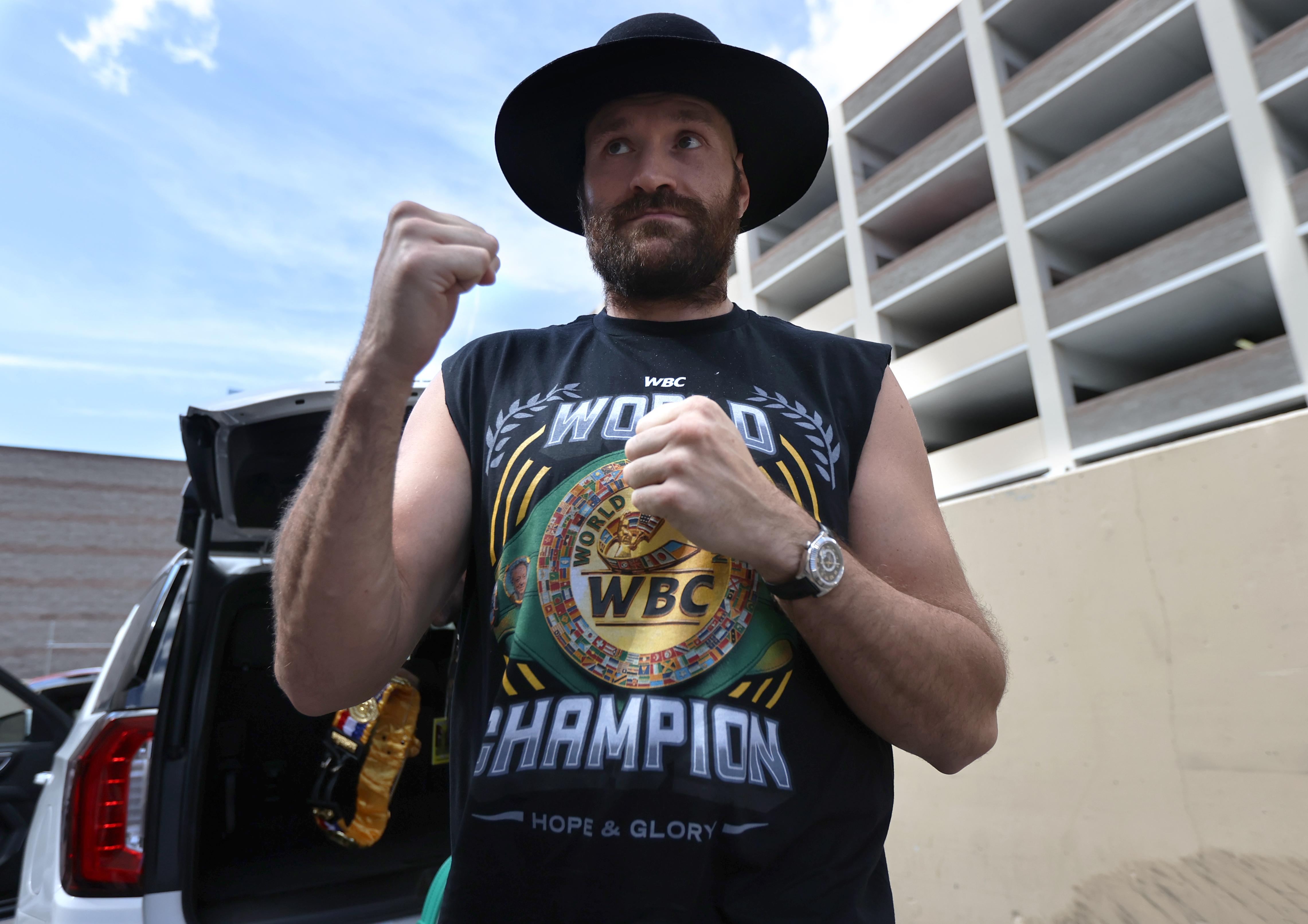 Tyson Fury v Deontay Wilder - Weigh-in